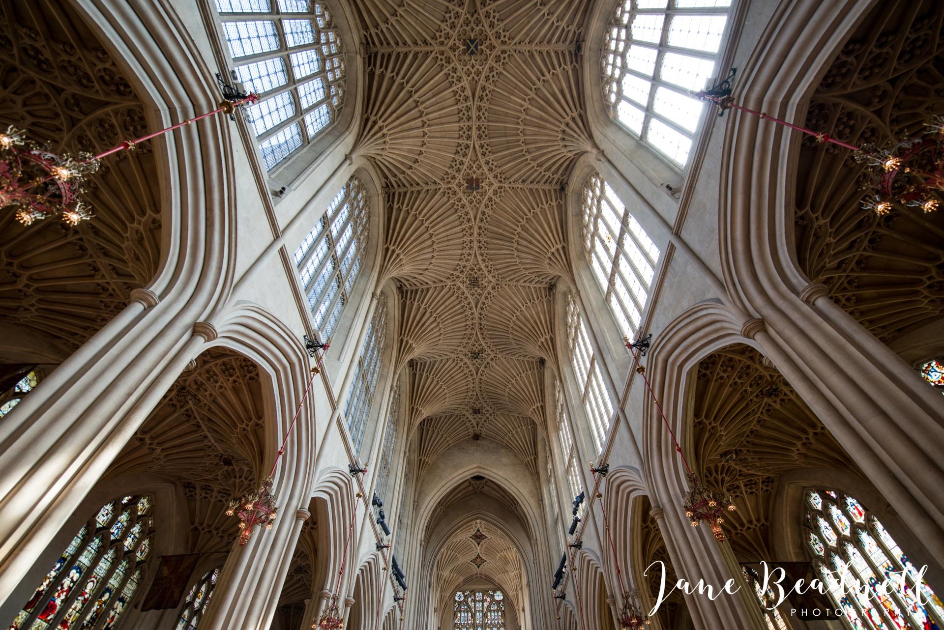 Bath Abbey wedding photography by fine art wedding photographer Leeds Jane Beadnell_10