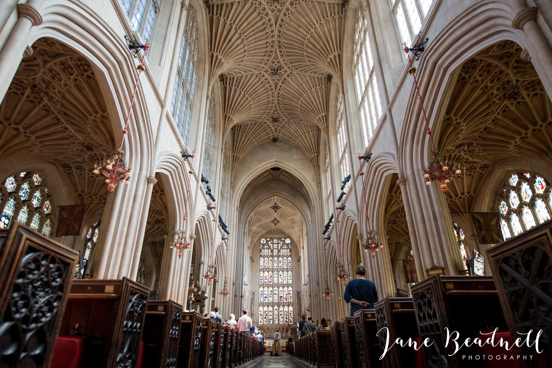 Bath Abbey wedding photography by fine art wedding photographer Leeds Jane Beadnell_13