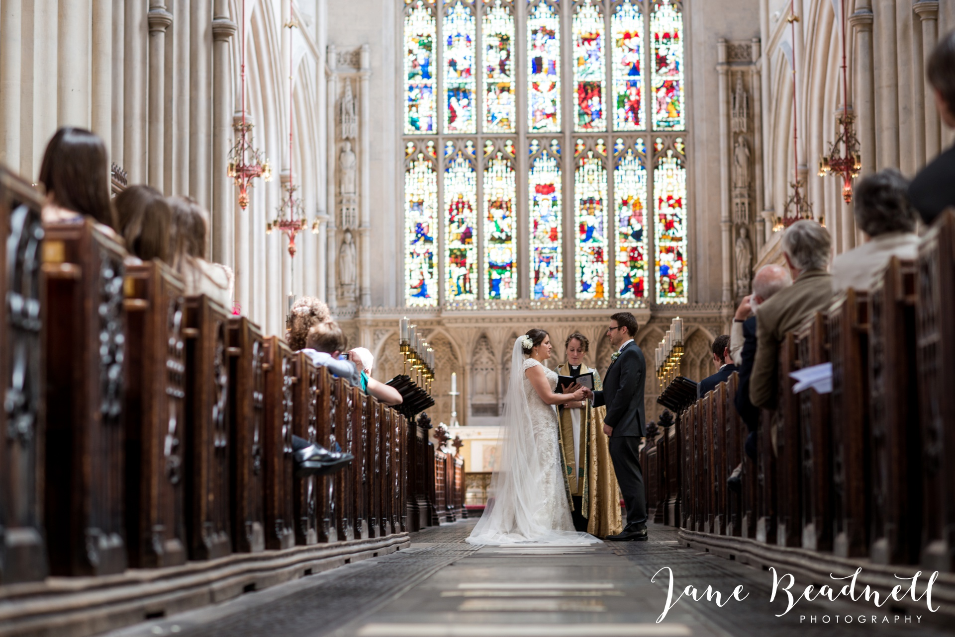 Bath Abbey wedding photography by fine art wedding photographer Leeds Jane Beadnell_15
