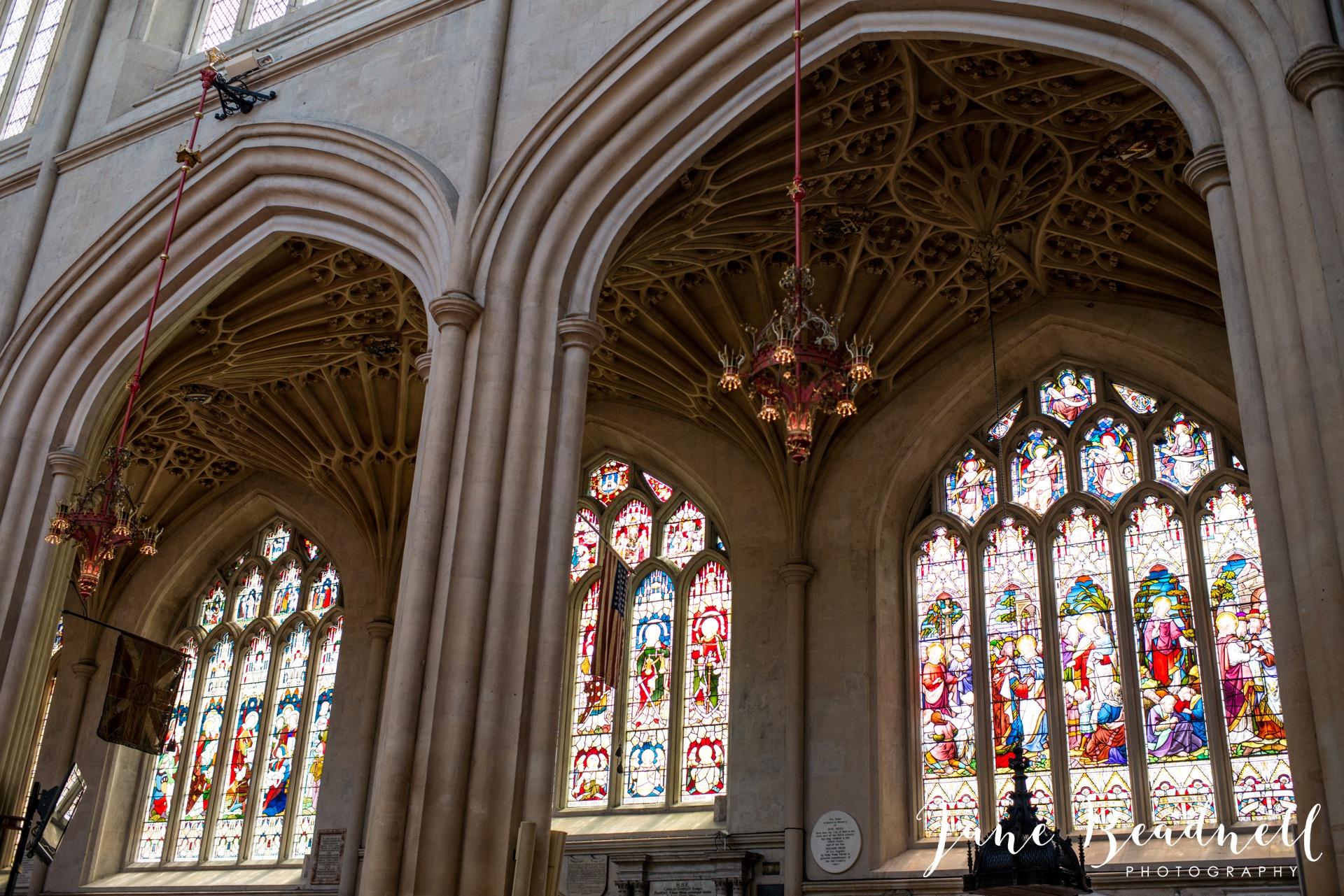 Bath Abbey wedding photography by fine art wedding photographer Leeds Jane Beadnell_17
