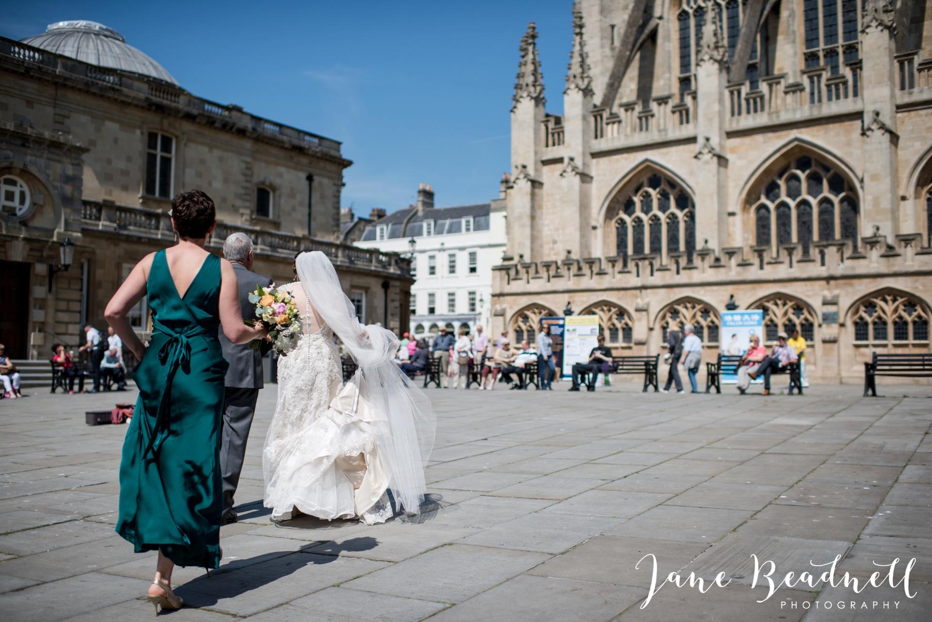 Bath Abbey wedding photography by fine art wedding photographer Leeds Jane Beadnell_2