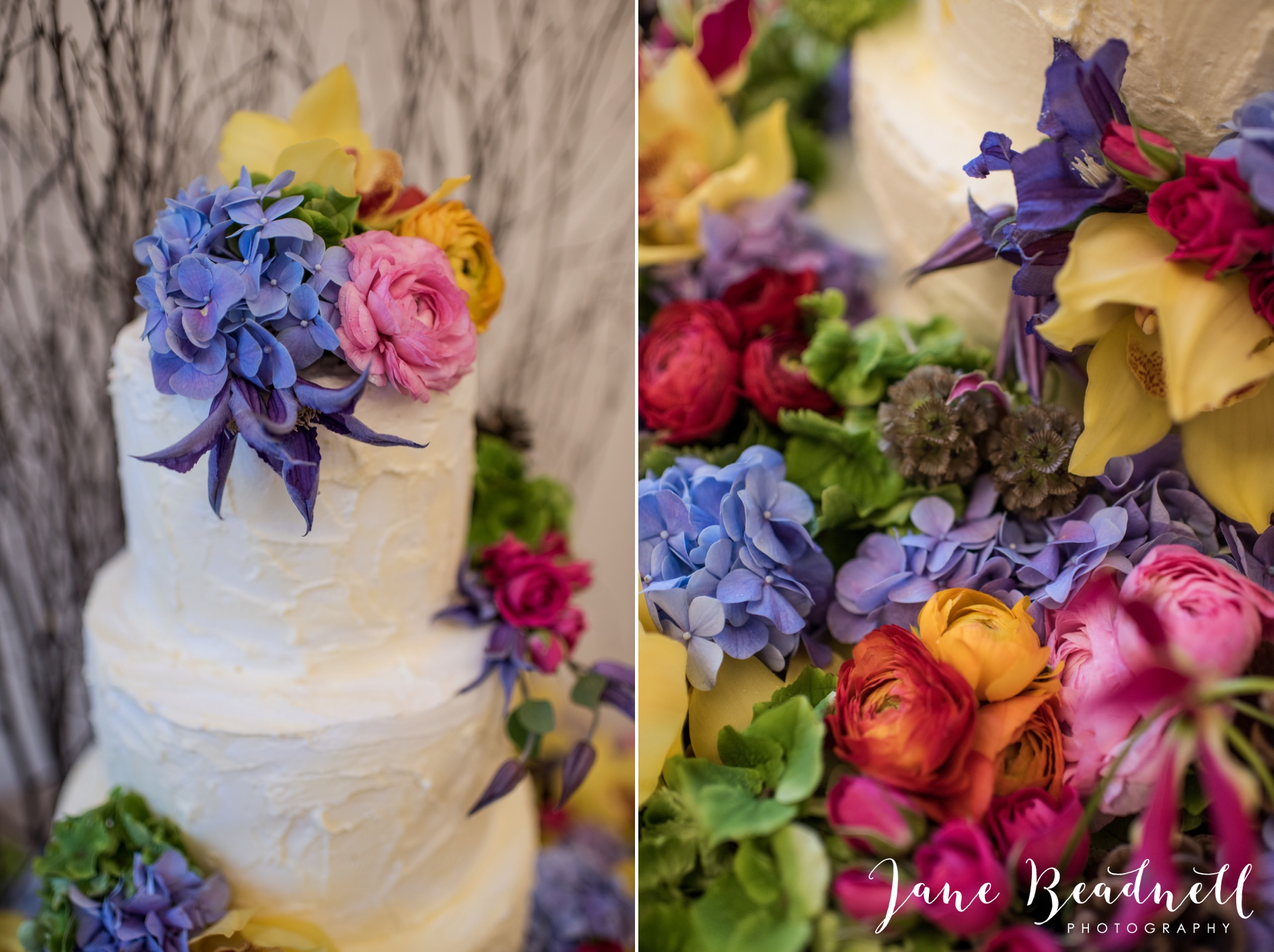 Leafy couture wedding flowers wedding photography by Jane Beadnell photography_0003
