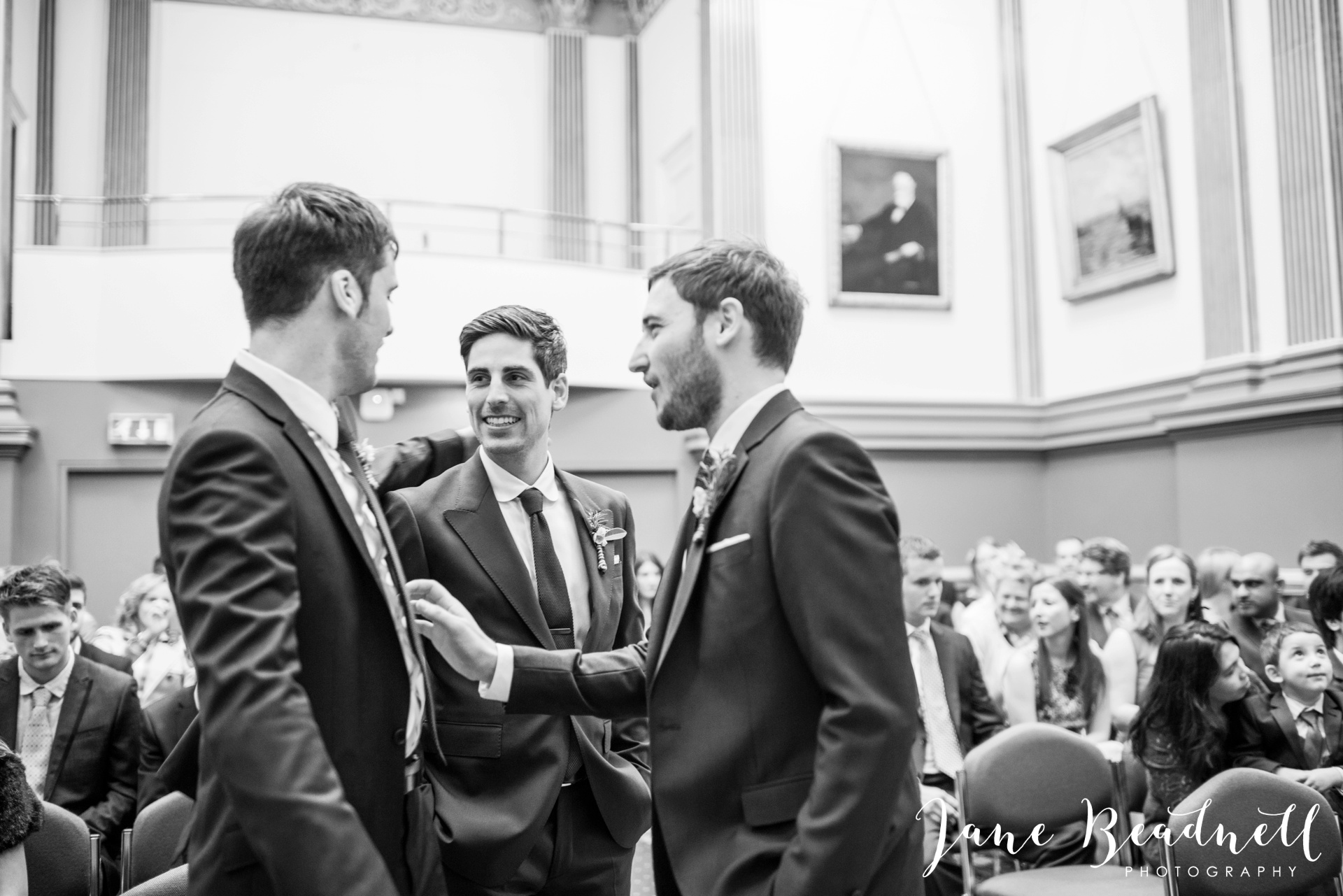 Left Bank Centre Leeds wedding photography by Jane Beadnell photography Yorkshire_0022