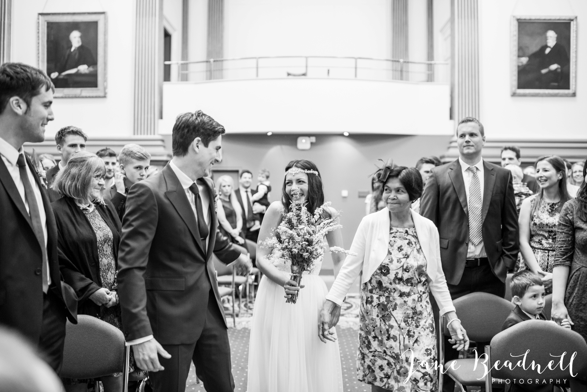 Left Bank Centre Leeds wedding photography by Jane Beadnell photography Yorkshire_0030