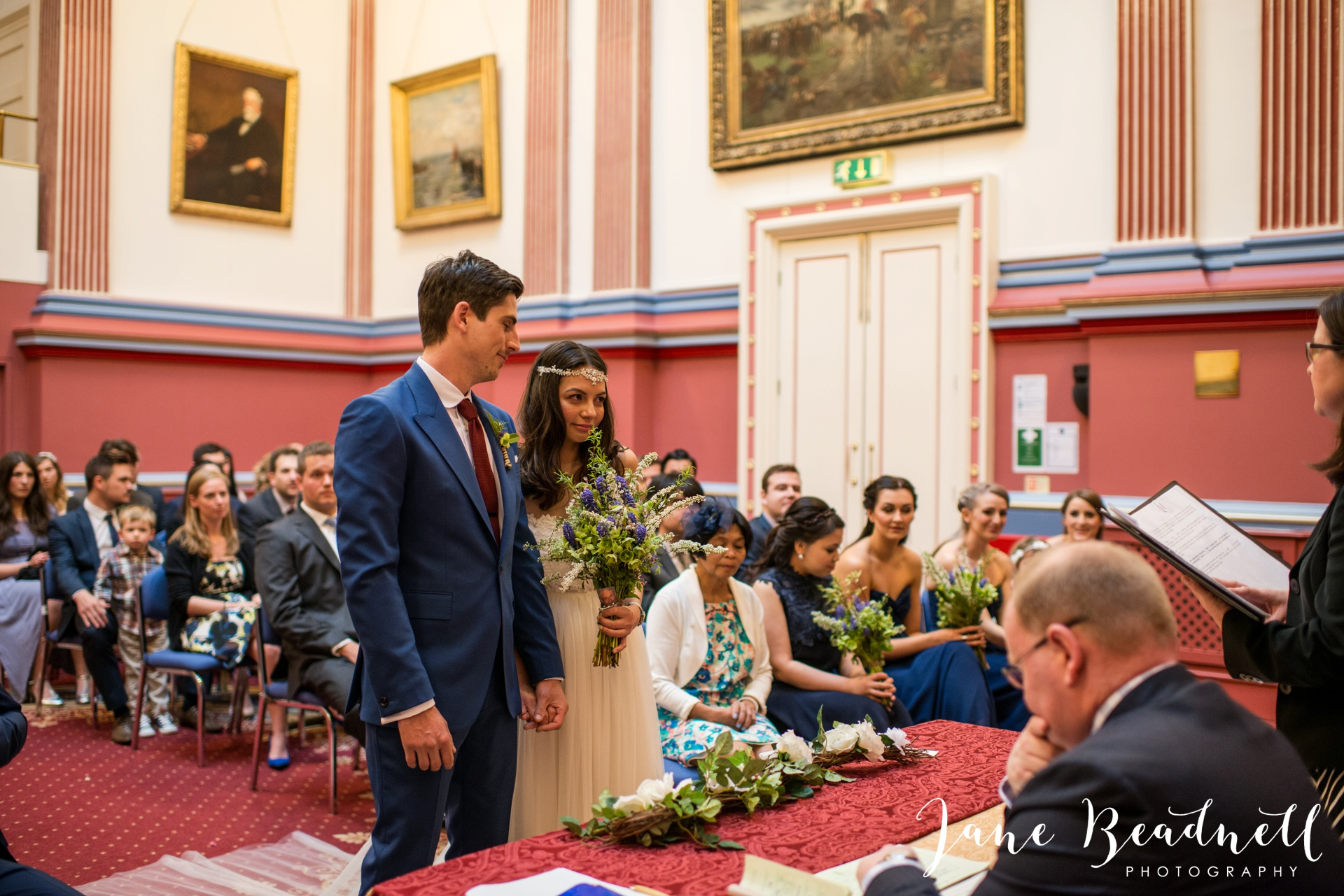 Left Bank Centre Leeds wedding photography by Jane Beadnell photography Yorkshire_0034