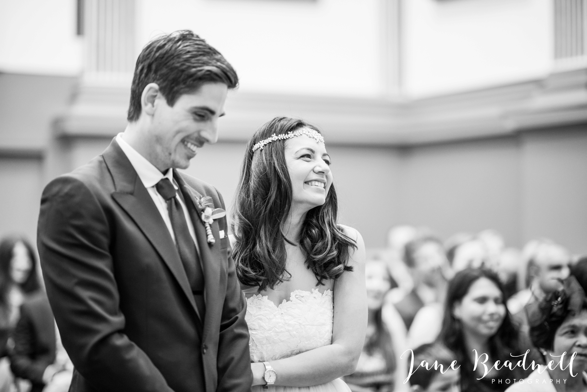 Left Bank Centre Leeds wedding photography by Jane Beadnell photography Yorkshire_0037
