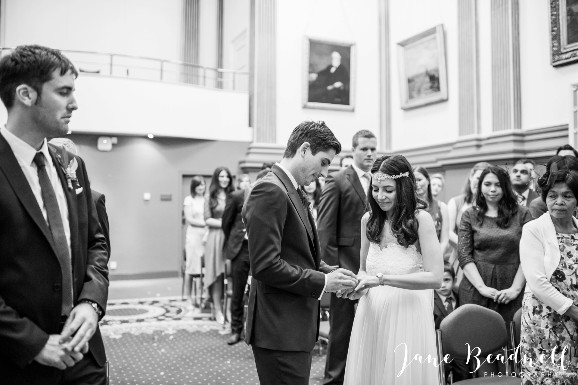 Left Bank Centre Leeds wedding photography by Jane Beadnell photography Yorkshire_0041