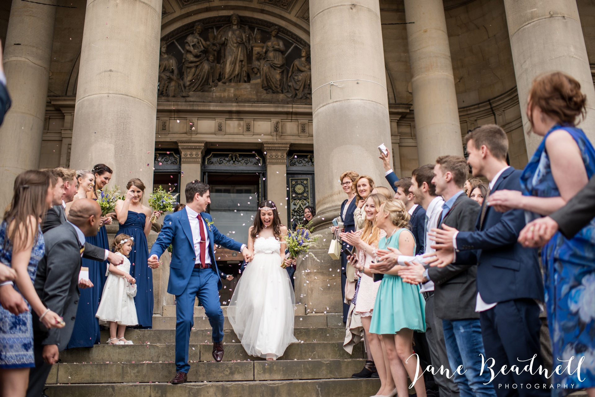Left Bank Centre Leeds wedding photography by Jane Beadnell photography Yorkshire_0048