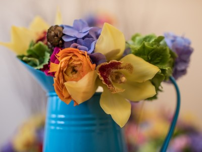 Leafy Couture Wedding Flowers