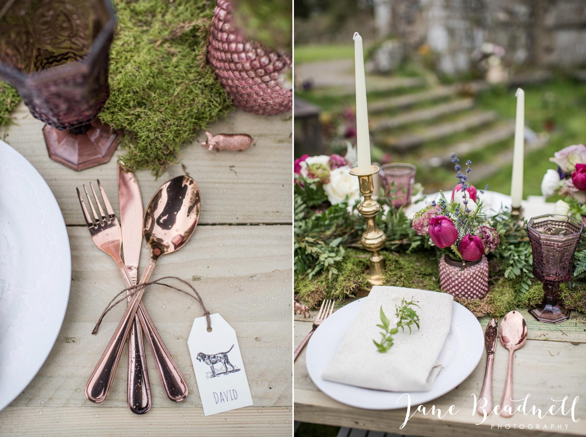 Jervaulx Abbey wedding photography fine art Yorkshire wedding photographer jane beadnell_0005