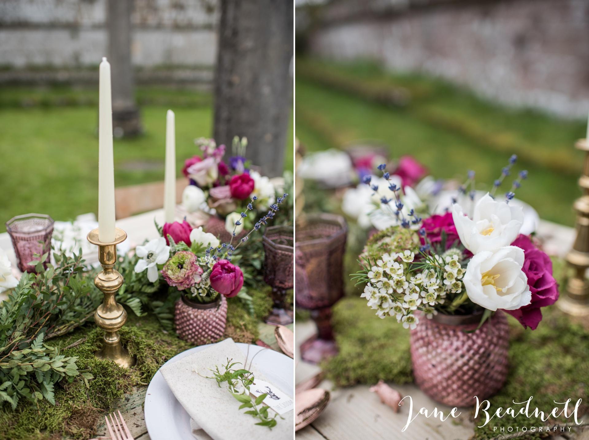 Jervaulx Abbey wedding photography fine art Yorkshire wedding photographer jane beadnell_0007