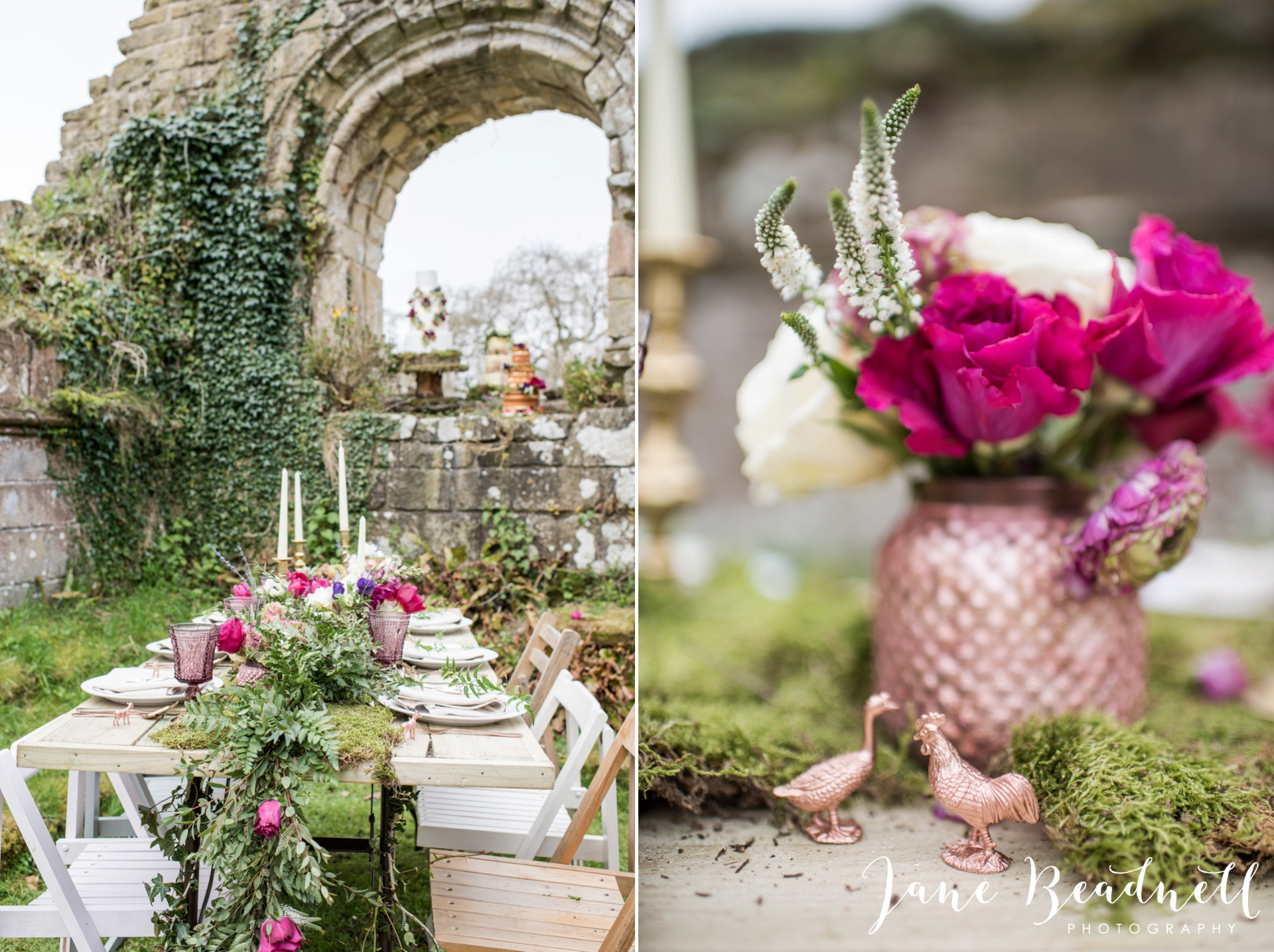 Jervaulx Abbey wedding photography fine art Yorkshire wedding photographer jane beadnell_0012