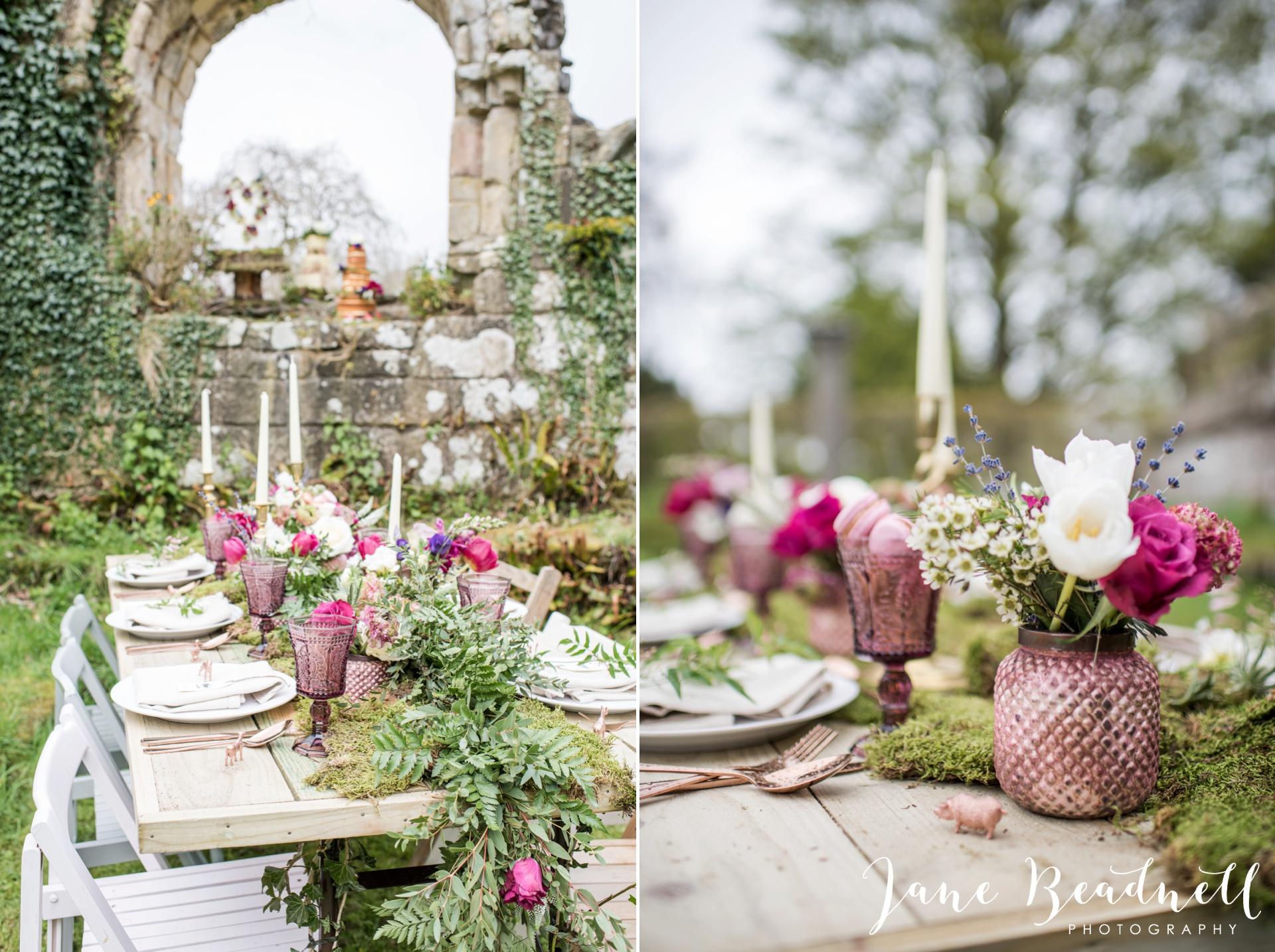 Jervaulx Abbey wedding photography fine art Yorkshire wedding photographer jane beadnell_0017