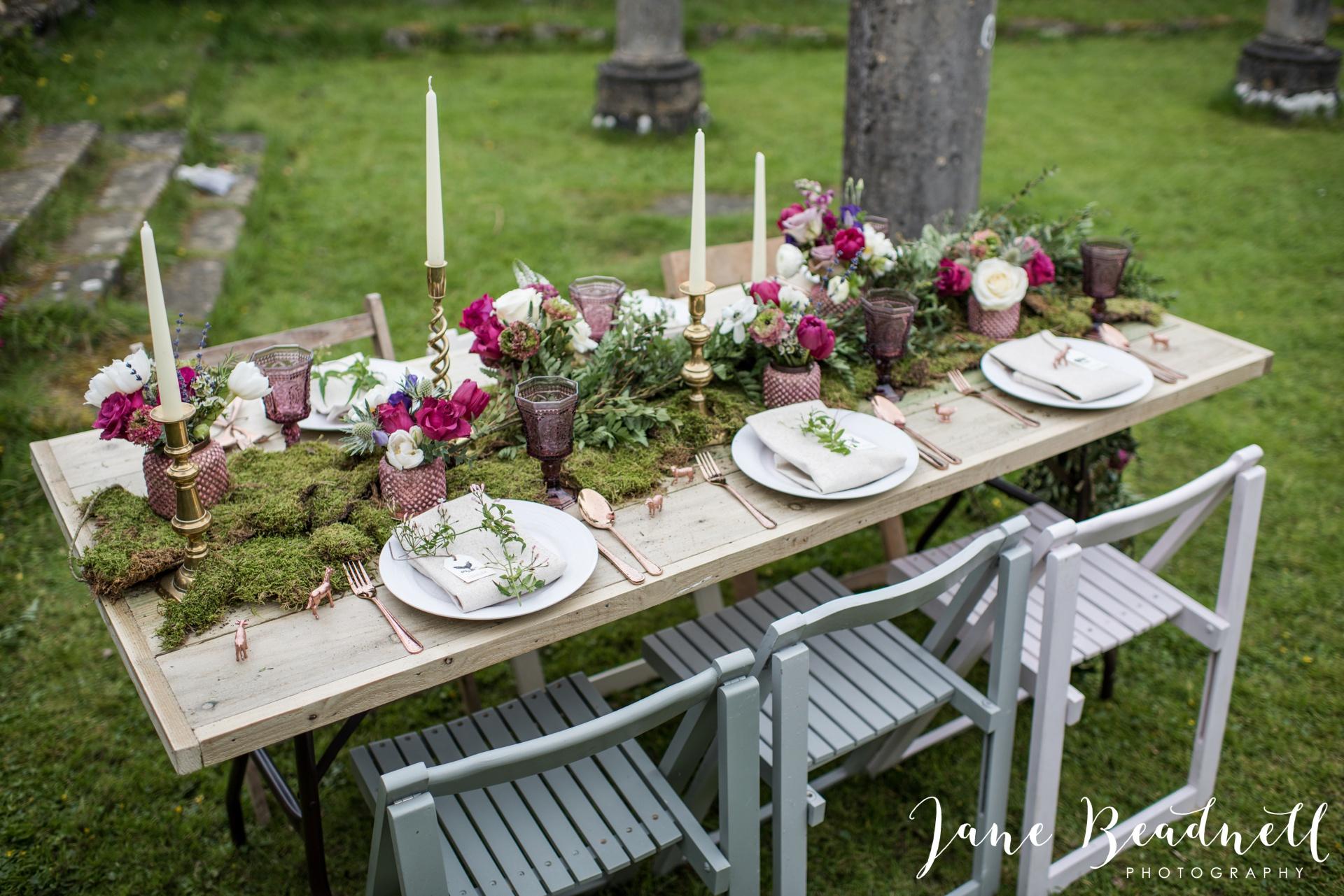 Jervaulx Abbey wedding photography fine art Yorkshire wedding photographer jane beadnell_0022