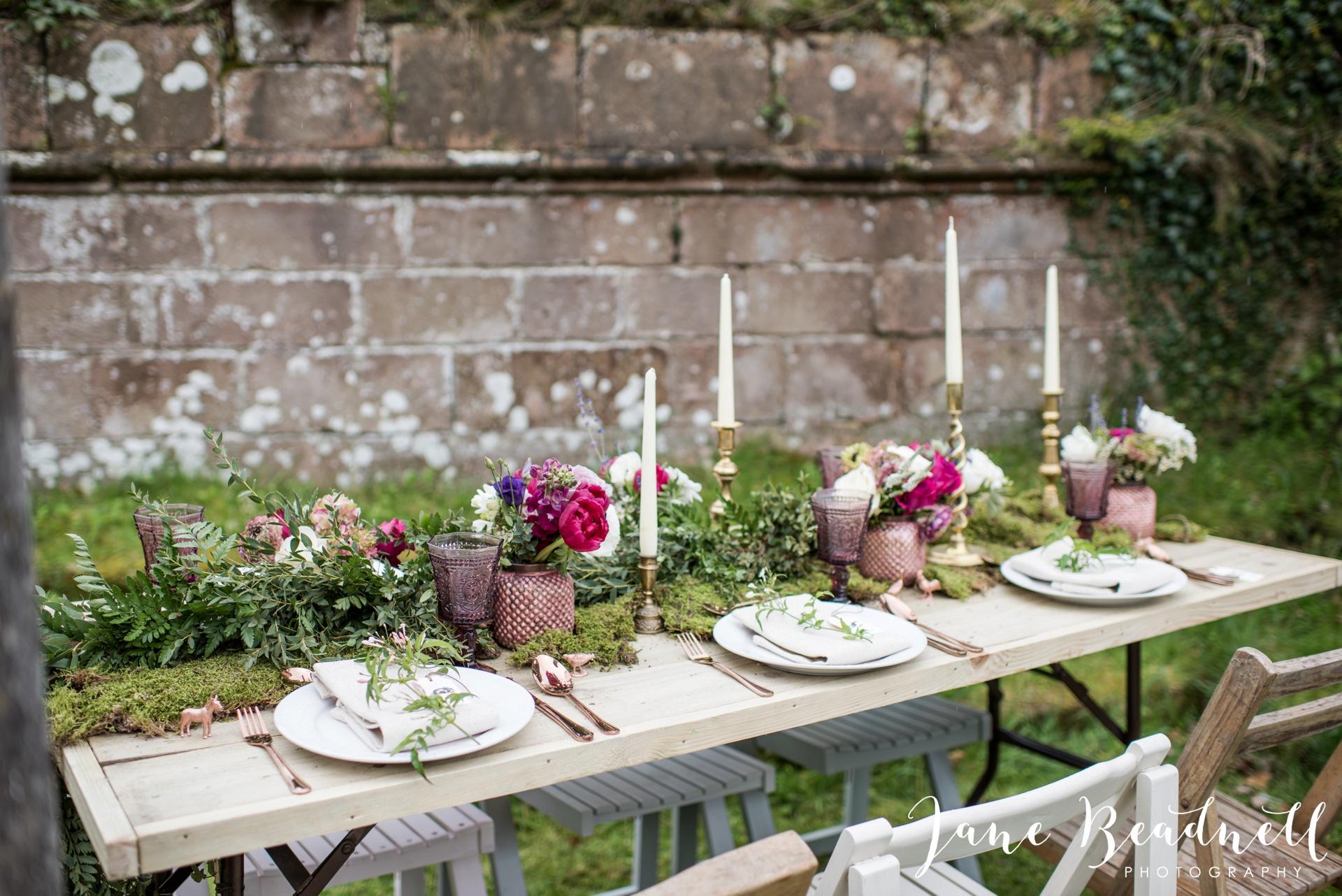 Jervaulx Abbey wedding photography fine art Yorkshire wedding photographer jane beadnell_0023
