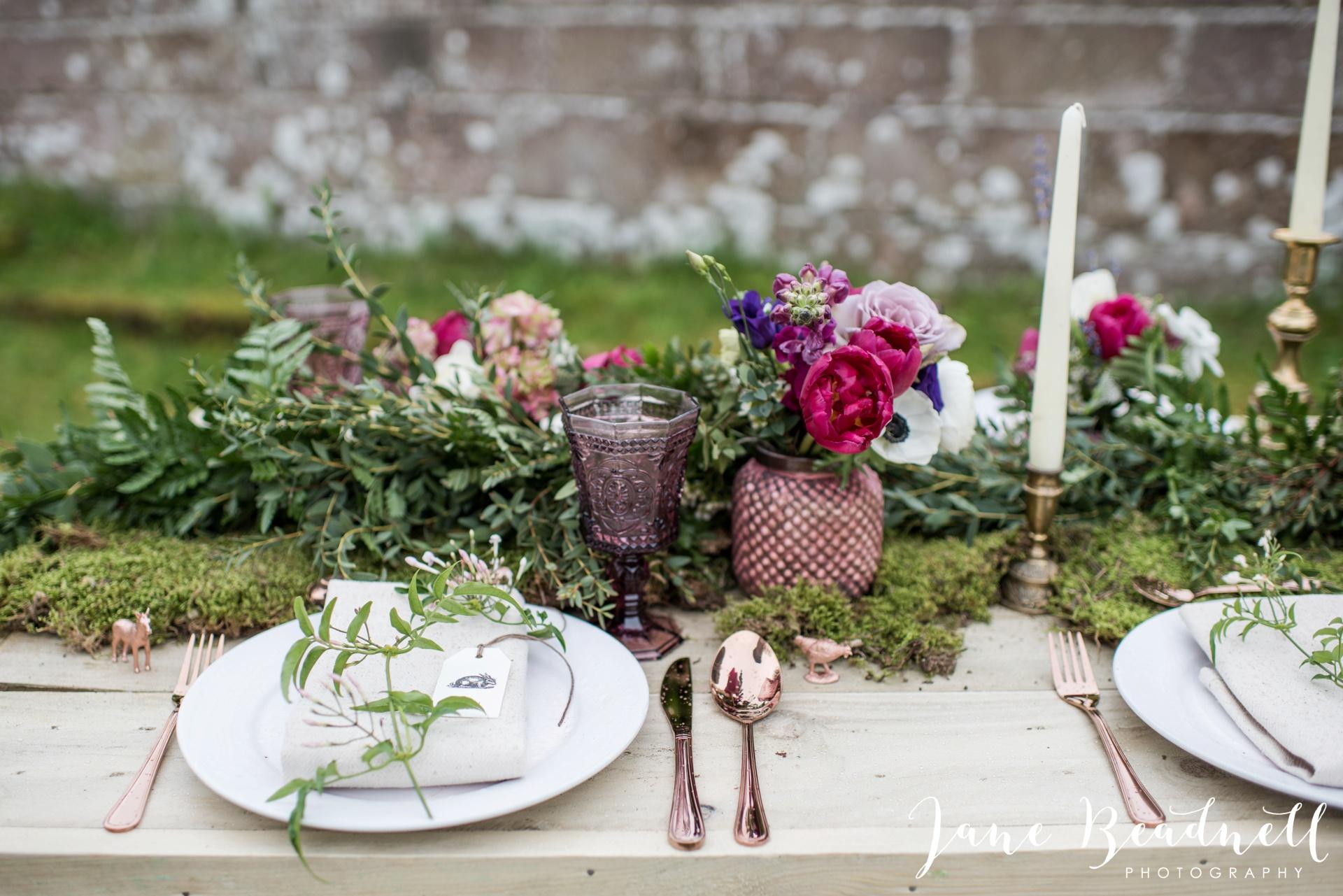 Jervaulx Abbey wedding photography fine art Yorkshire wedding photographer jane beadnell_0024