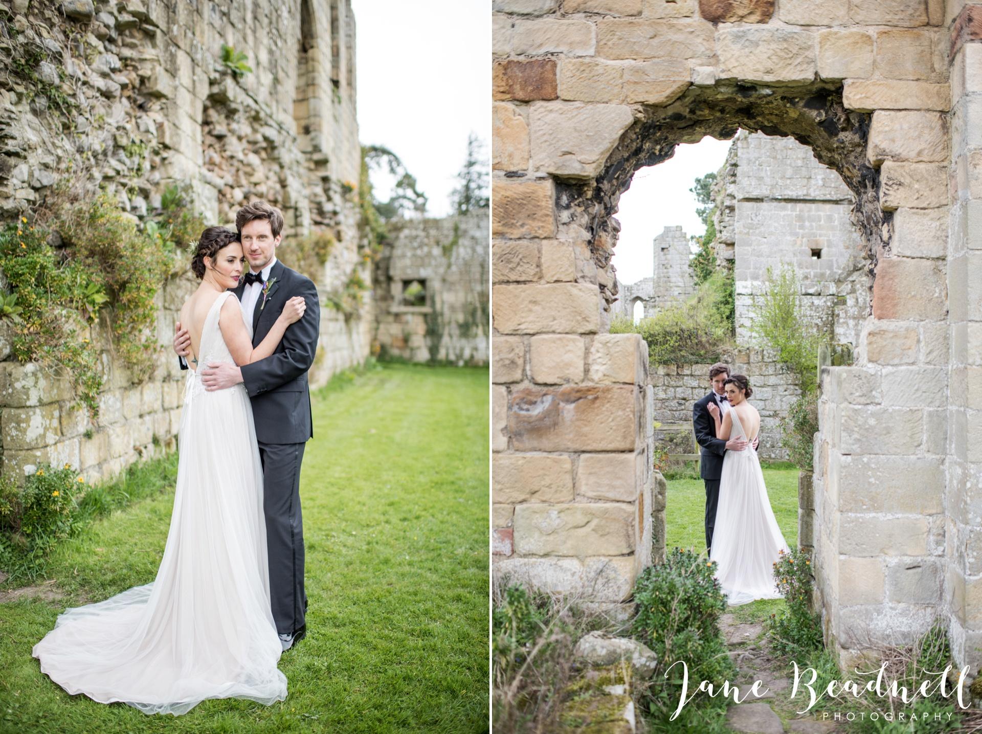 Jervaulx Abbey wedding photography fine art Yorkshire wedding photographer jane beadnell_0030