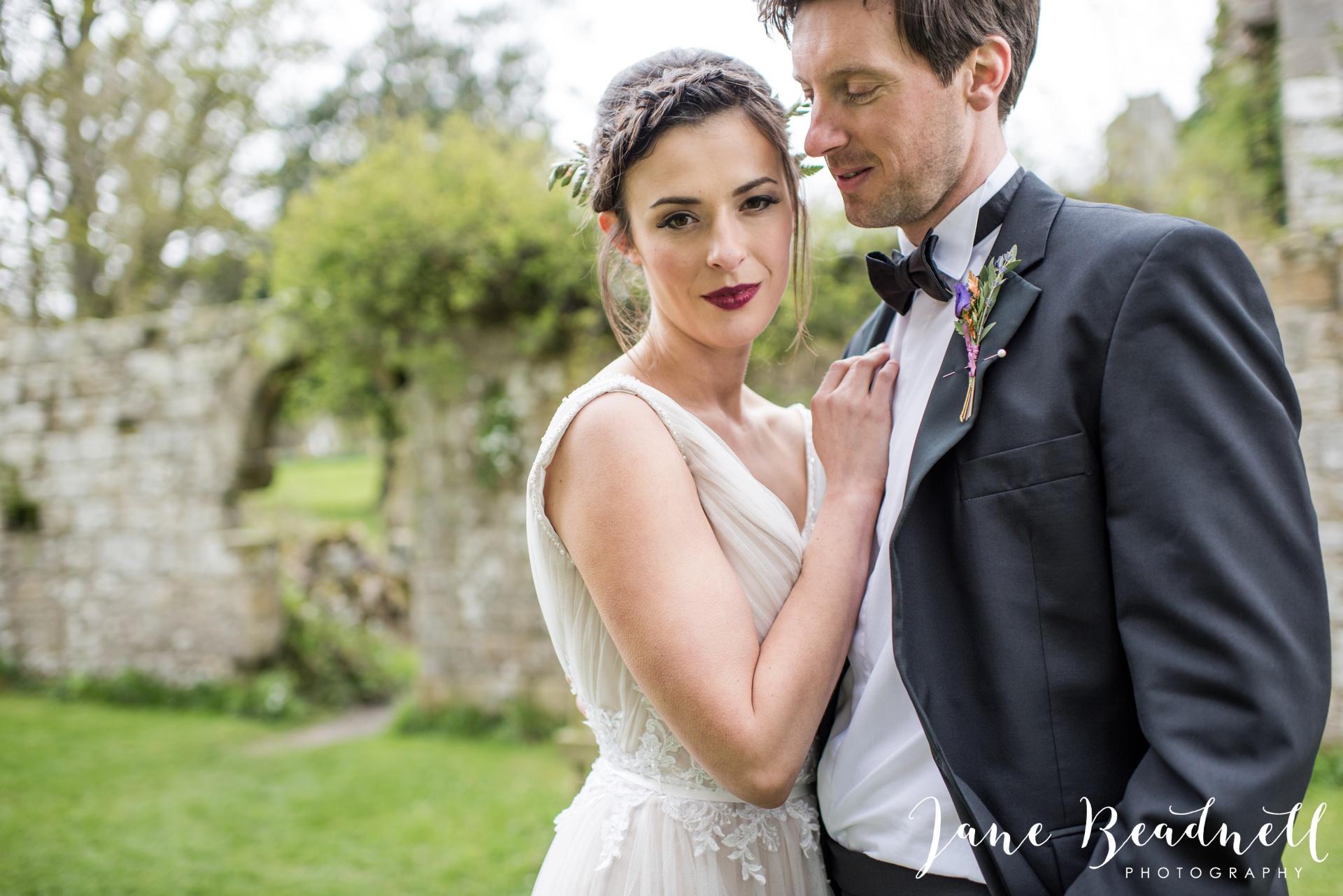 Jervaulx Abbey wedding photography fine art Yorkshire wedding photographer jane beadnell_0032