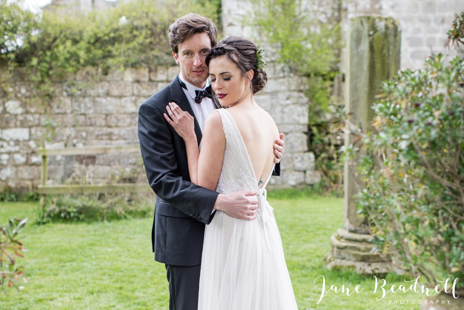 Jervaulx Abbey wedding photography fine art Yorkshire wedding photographer jane beadnell_0033