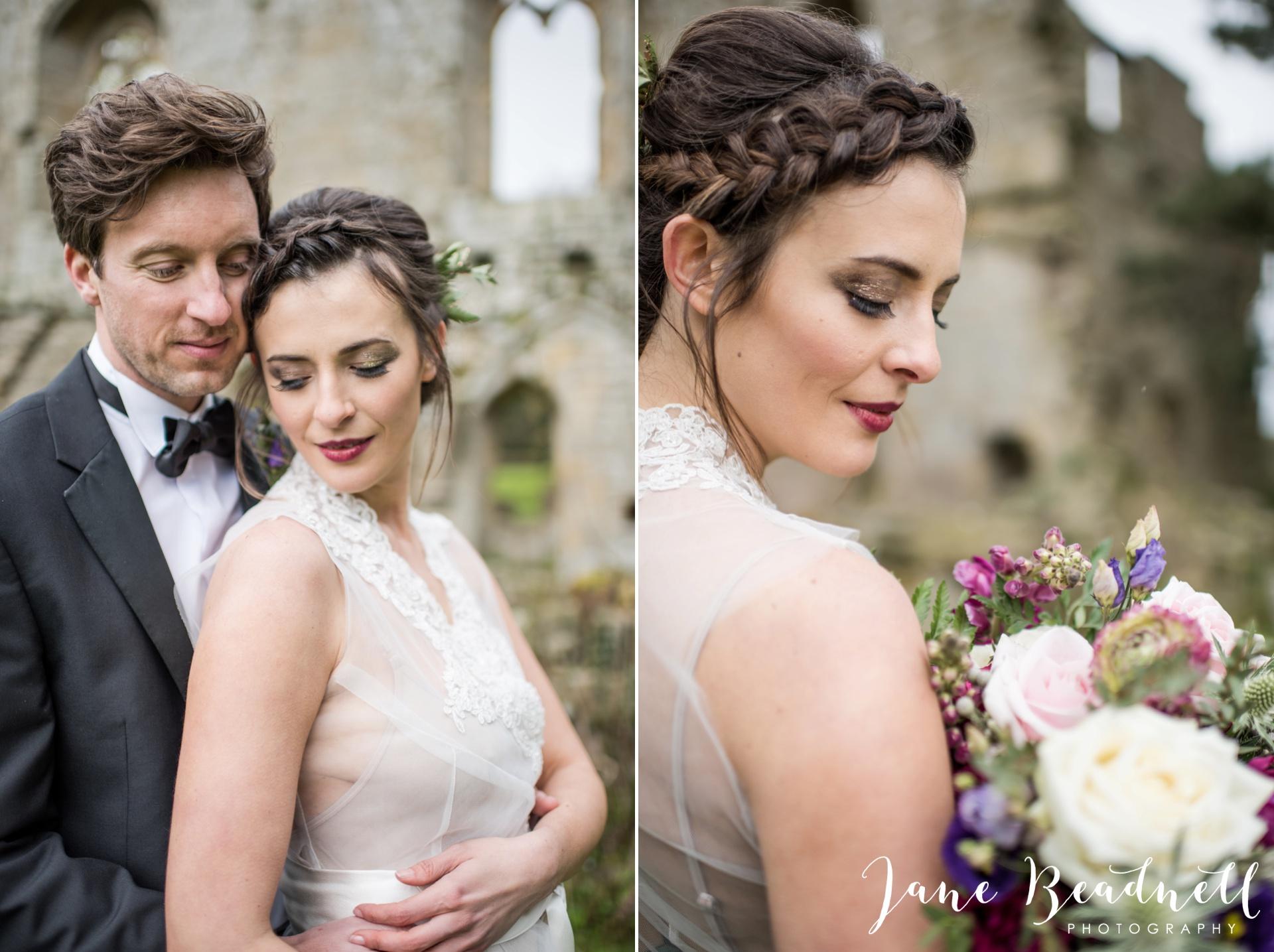 Jervaulx Abbey wedding photography fine art Yorkshire wedding photographer jane beadnell_0035
