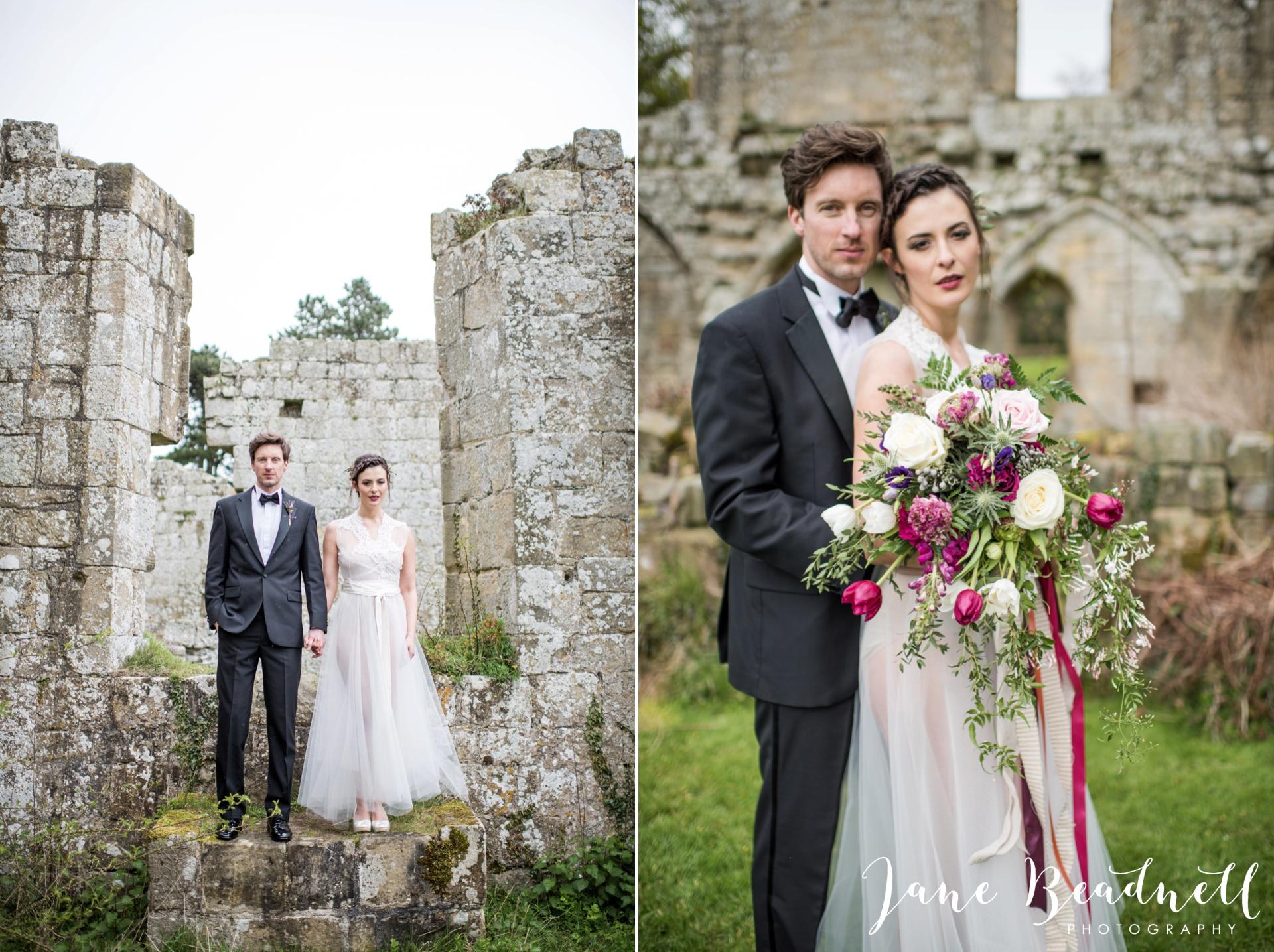 Jervaulx Abbey wedding photography fine art Yorkshire wedding photographer jane beadnell_0036