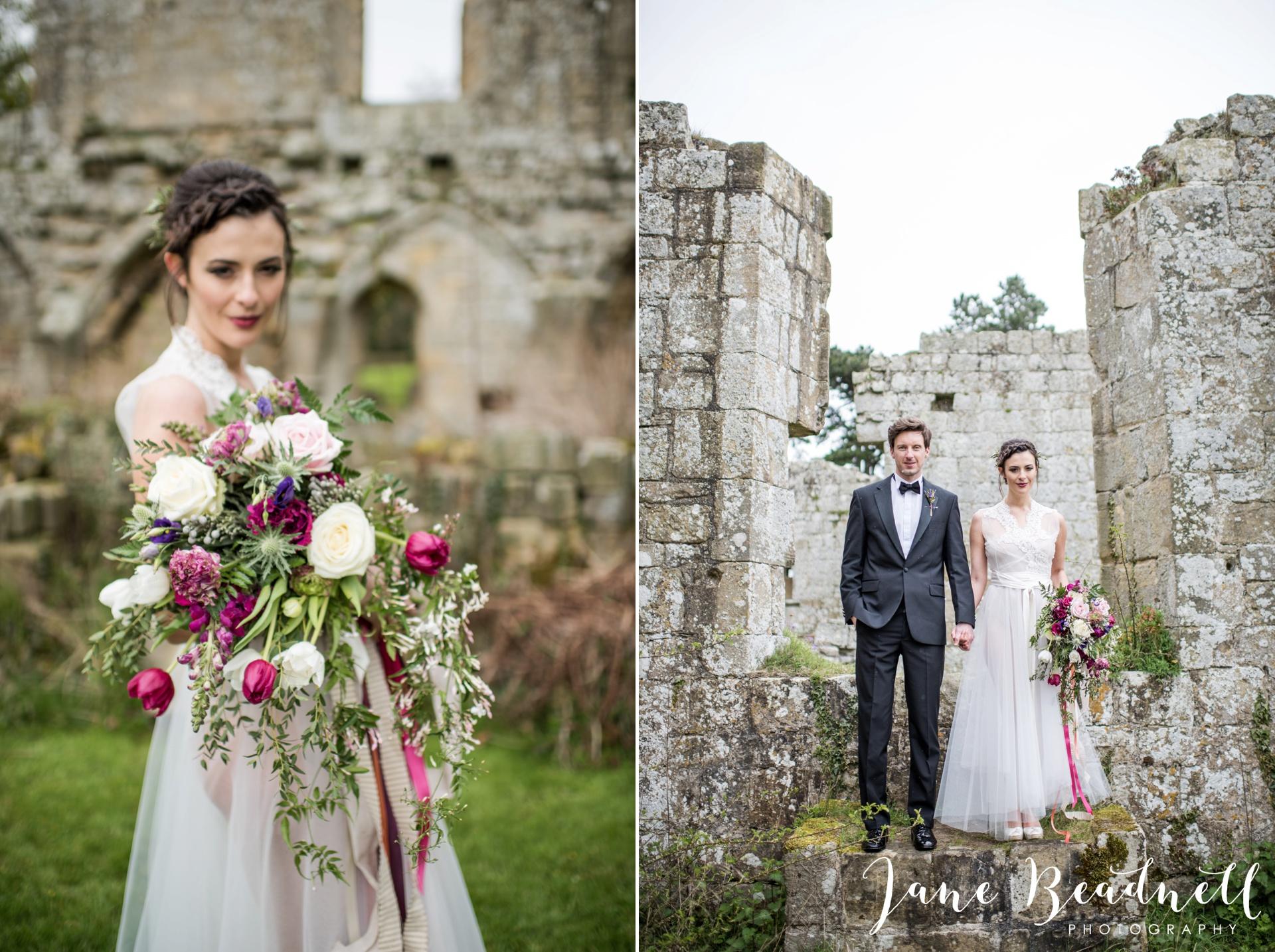 Jervaulx Abbey wedding photography fine art Yorkshire wedding photographer jane beadnell_0037