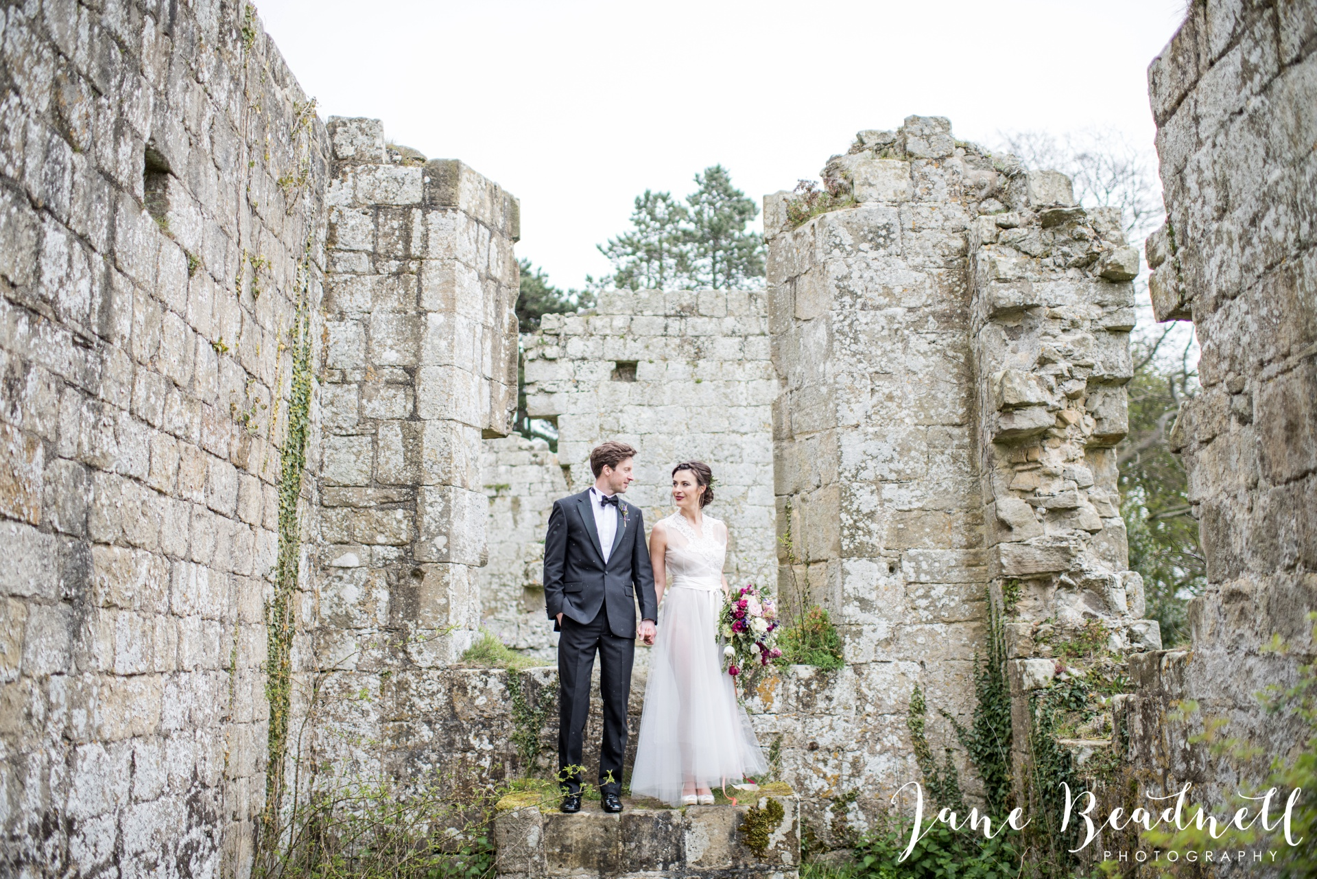 Jervaulx Abbey wedding photography fine art Yorkshire wedding photographer jane beadnell_0038