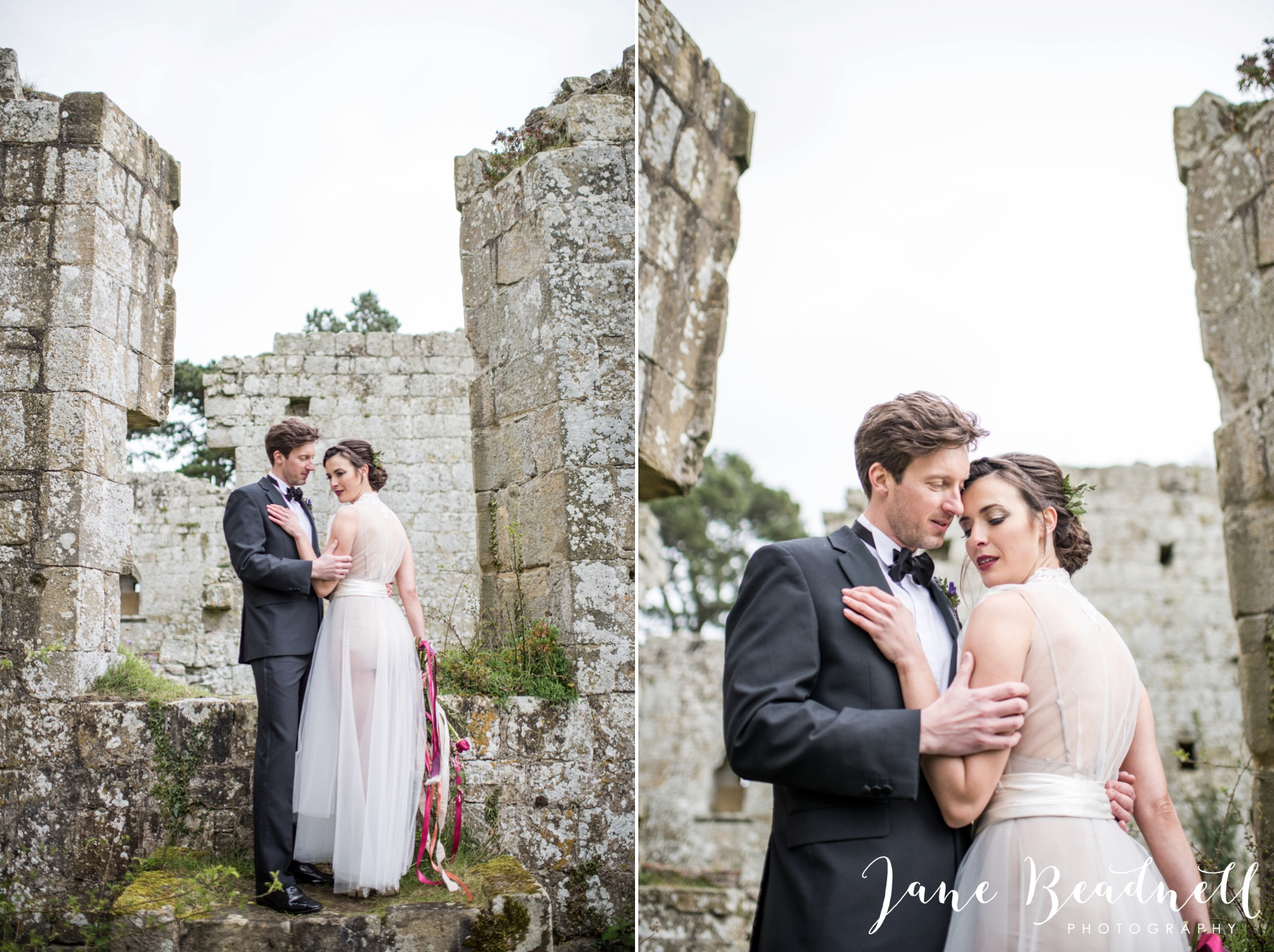 Jervaulx Abbey wedding photography fine art Yorkshire wedding photographer jane beadnell_0039