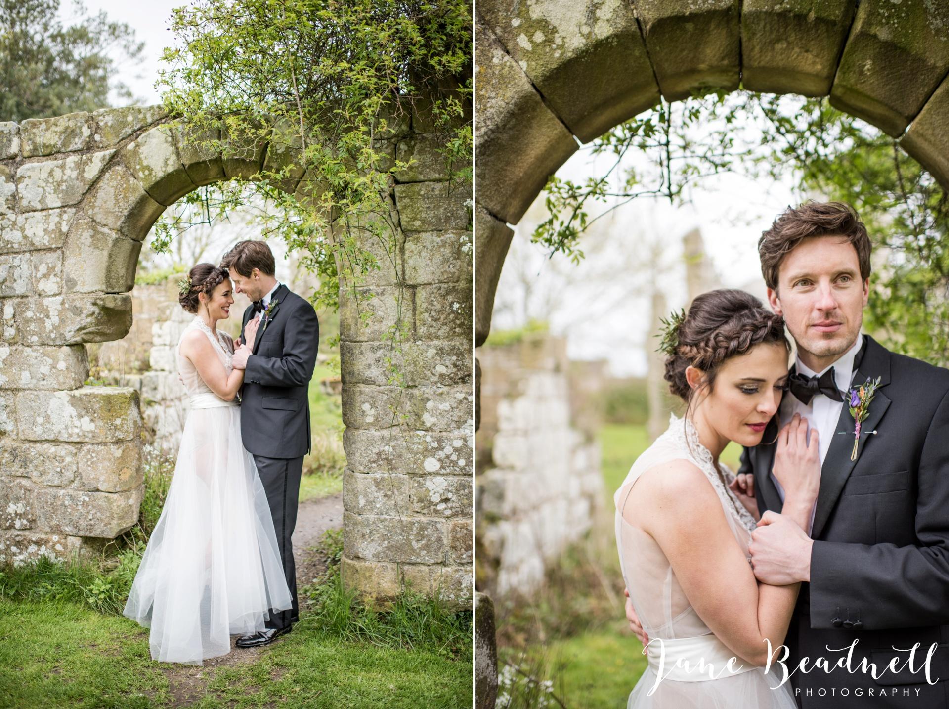 Jervaulx Abbey wedding photography fine art Yorkshire wedding photographer jane beadnell_0041