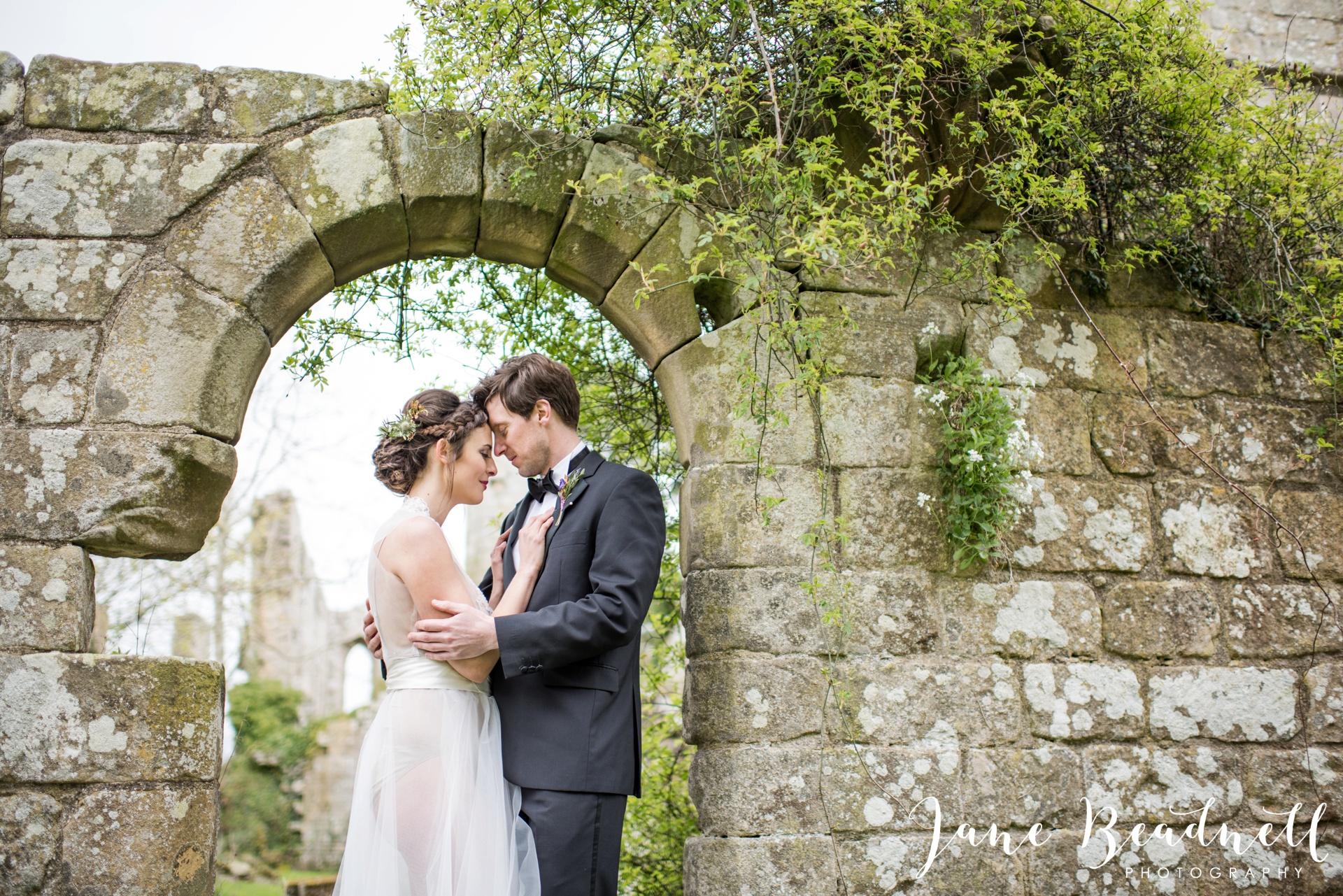 Jervaulx Abbey wedding photography fine art Yorkshire wedding photographer jane beadnell_0042