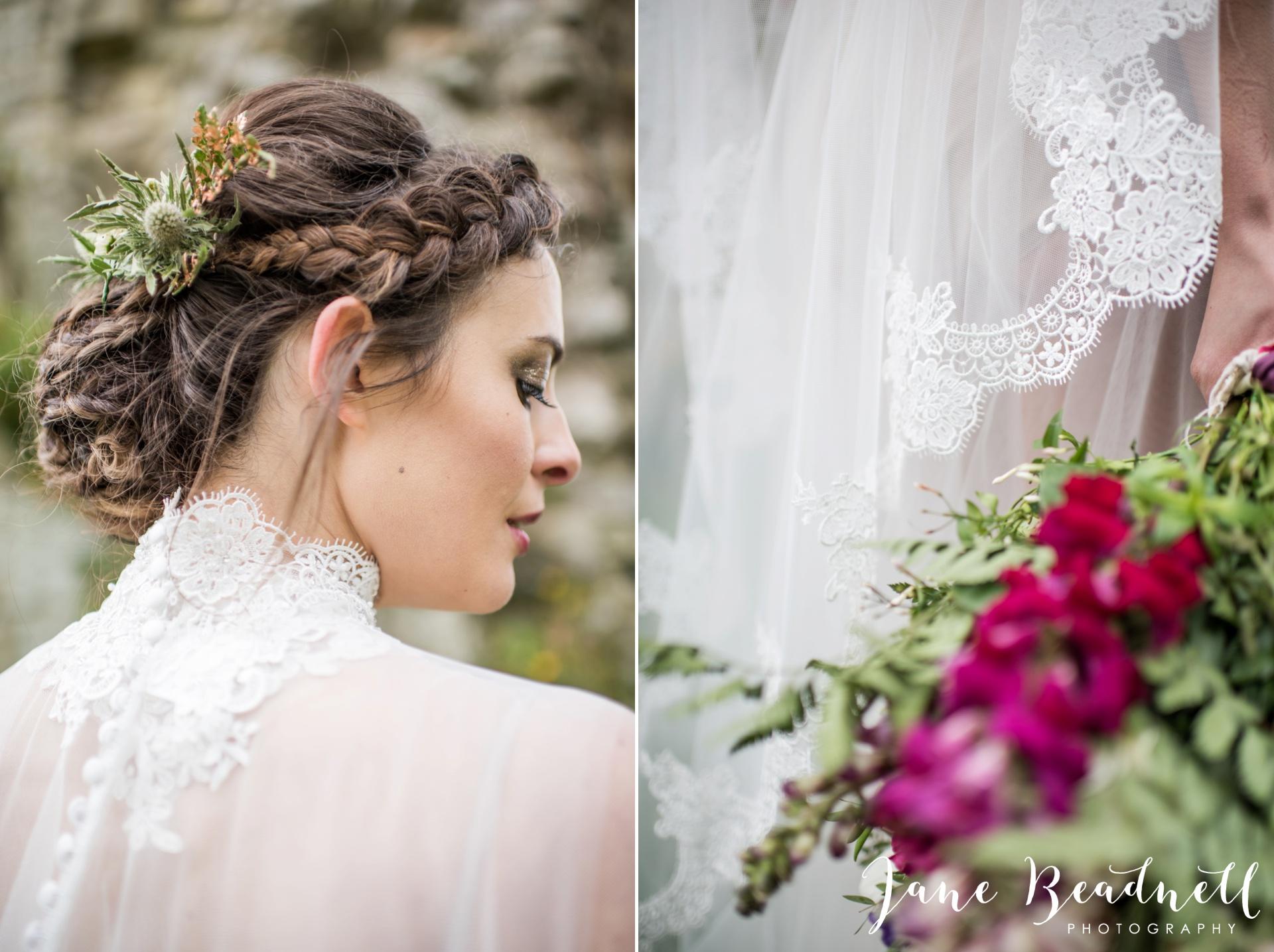 Jervaulx Abbey wedding photography fine art Yorkshire wedding photographer jane beadnell_0043