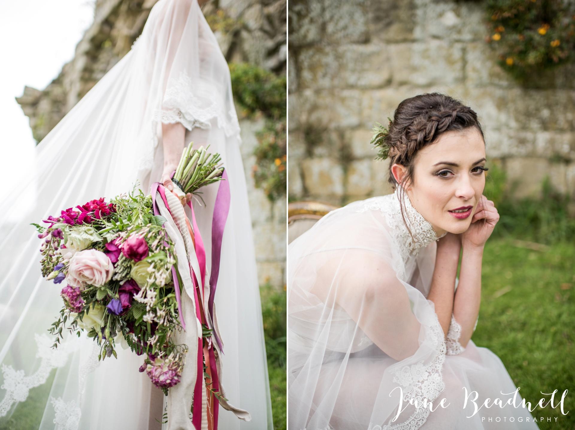 Jervaulx Abbey wedding photography fine art Yorkshire wedding photographer jane beadnell_0044