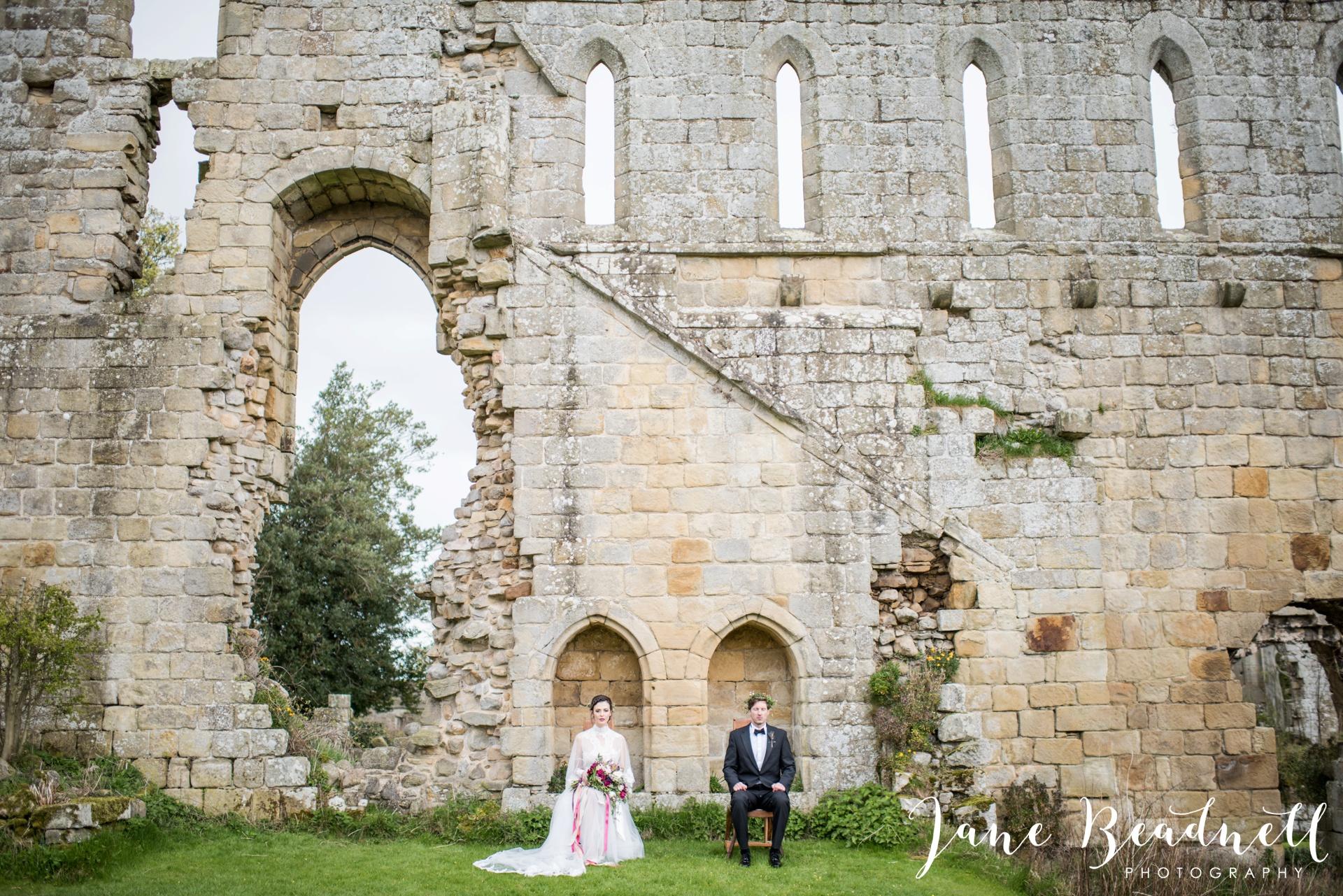 Jervaulx Abbey wedding photography fine art Yorkshire wedding photographer jane beadnell_0045