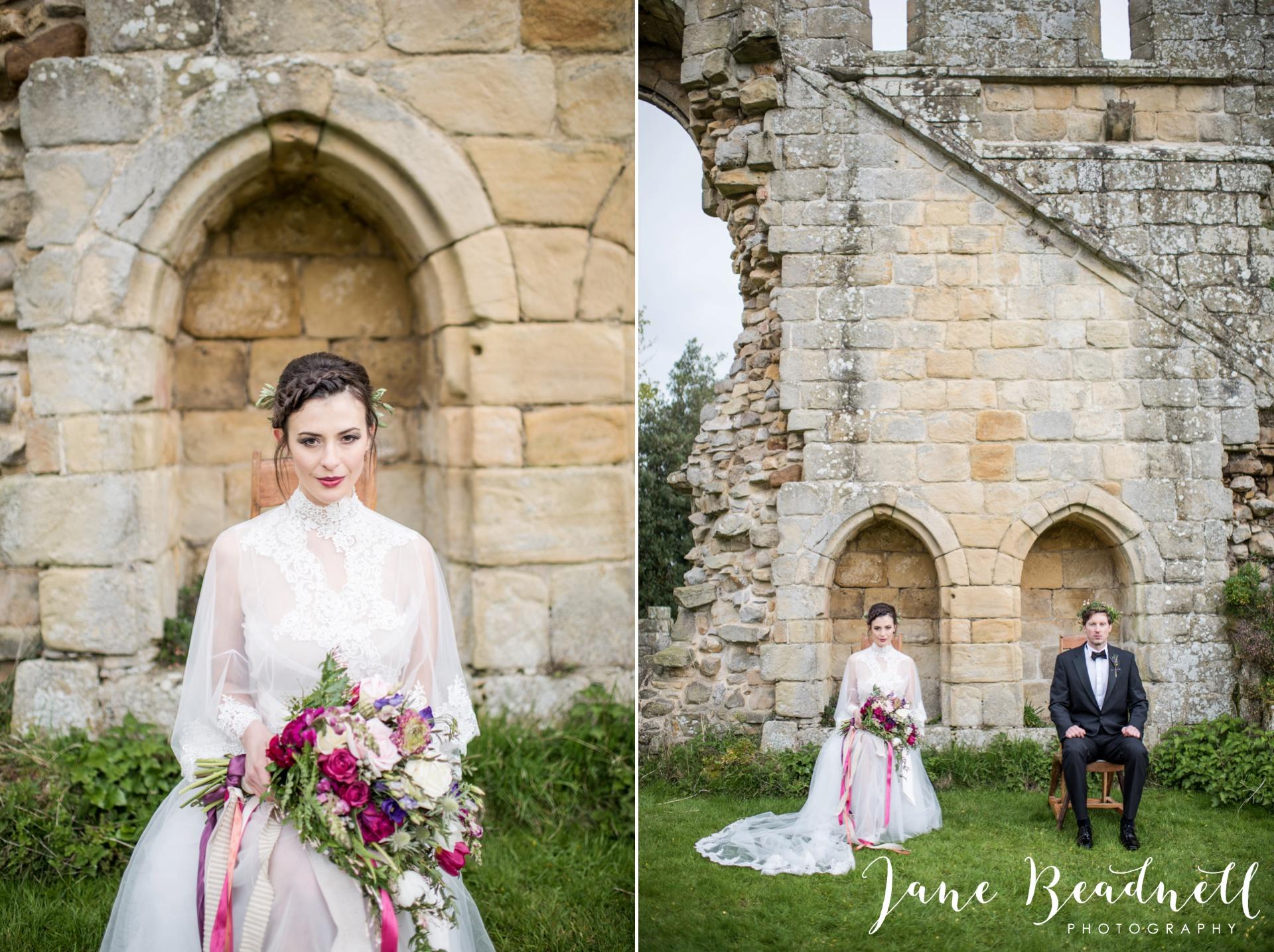 Jervaulx Abbey wedding photography fine art Yorkshire wedding photographer jane beadnell_0046