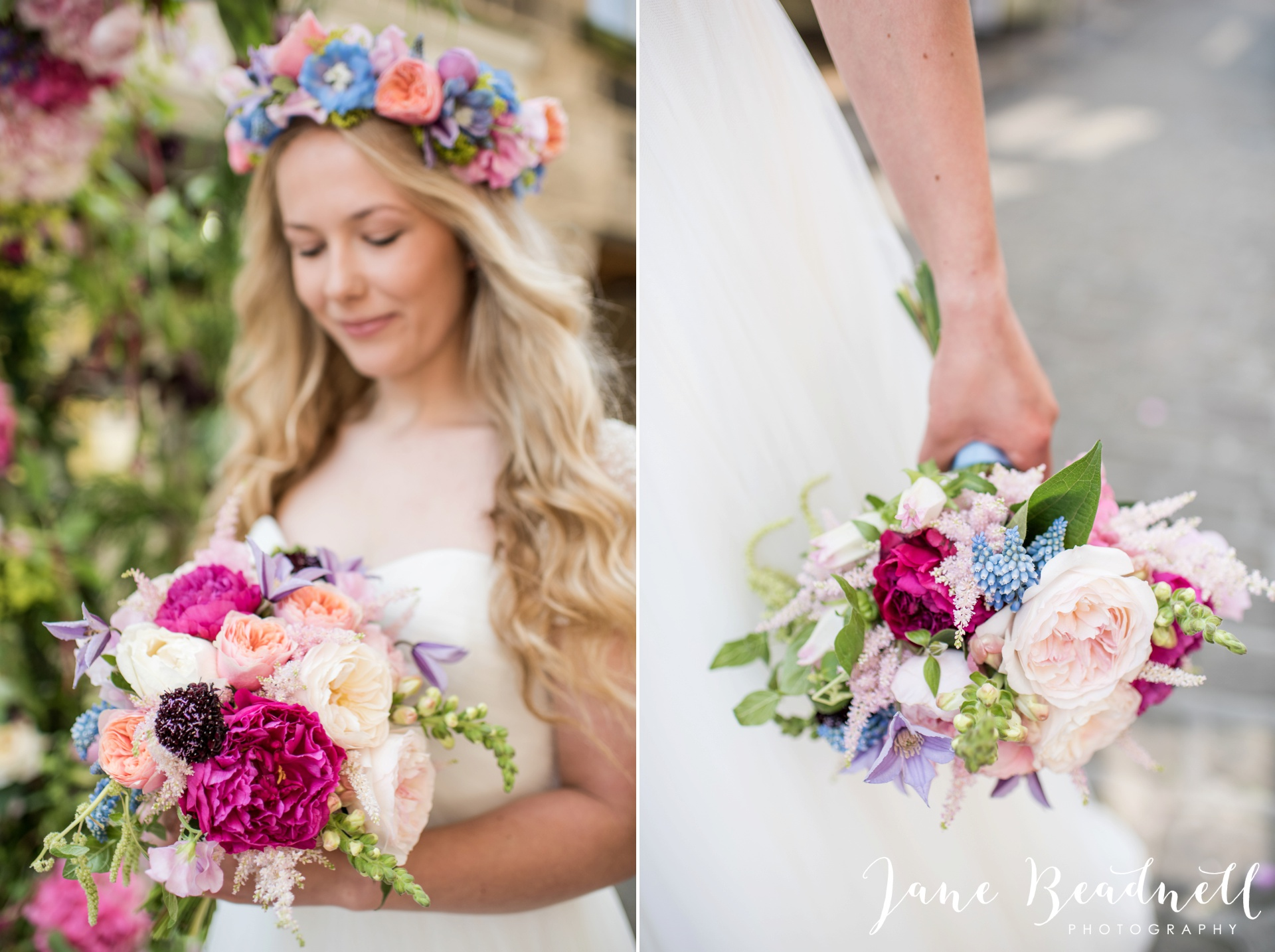 Fine art wedding photography by Jane Beadnell Photography Leafy Couture wedding flowers_0005