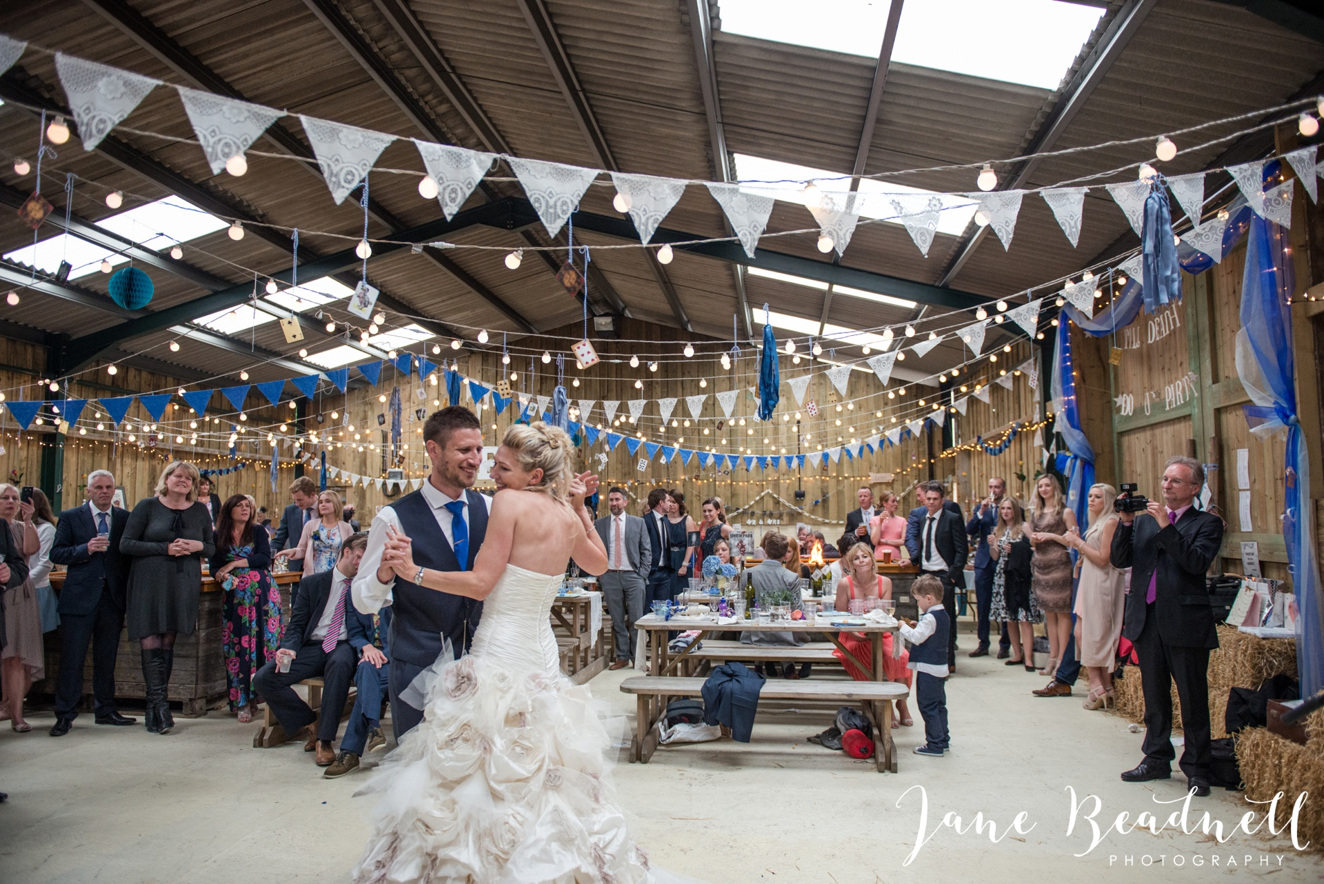 Hill Top Farm Wedding Photography Masham by Jane Beadnell Photography_0113