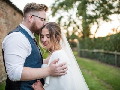 Teepee English Country Garden Wedding, Yorkshire