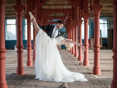 Ballet wedding styled shoot