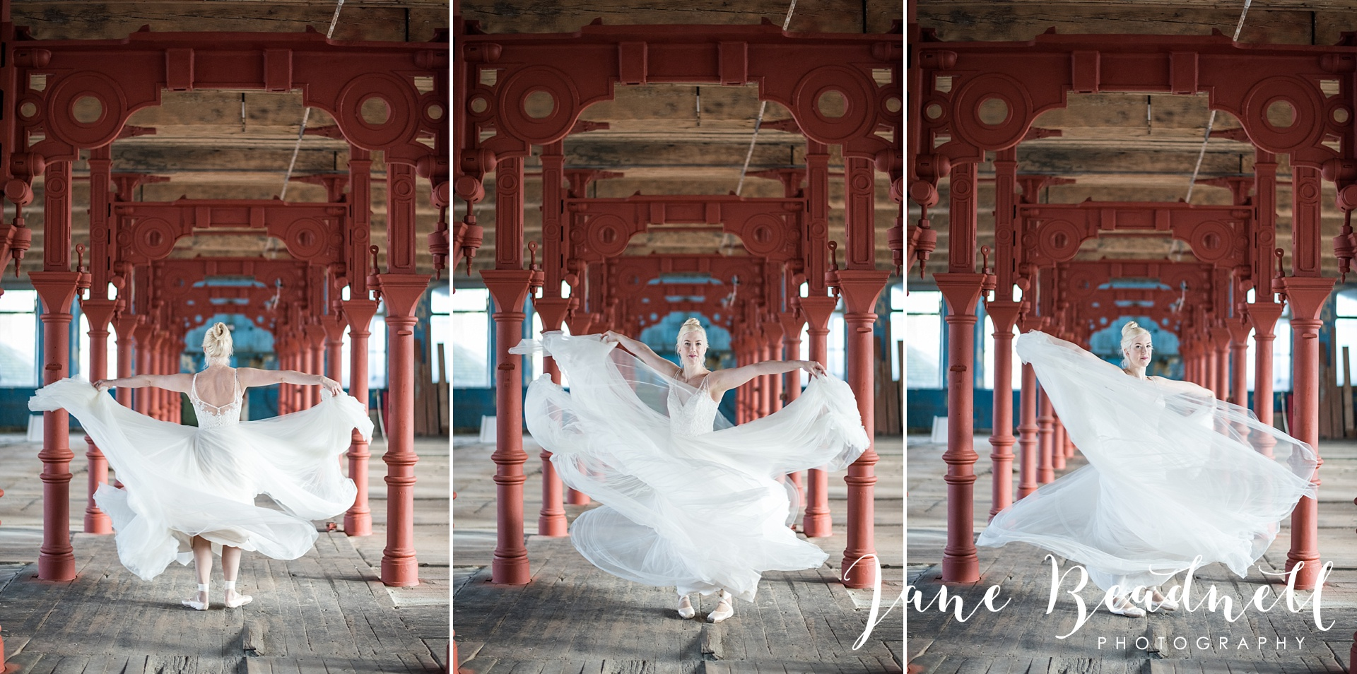 Ballet themed styled wedding shoot at Dalton Mills by Jane Beadnell Photography-0_0026