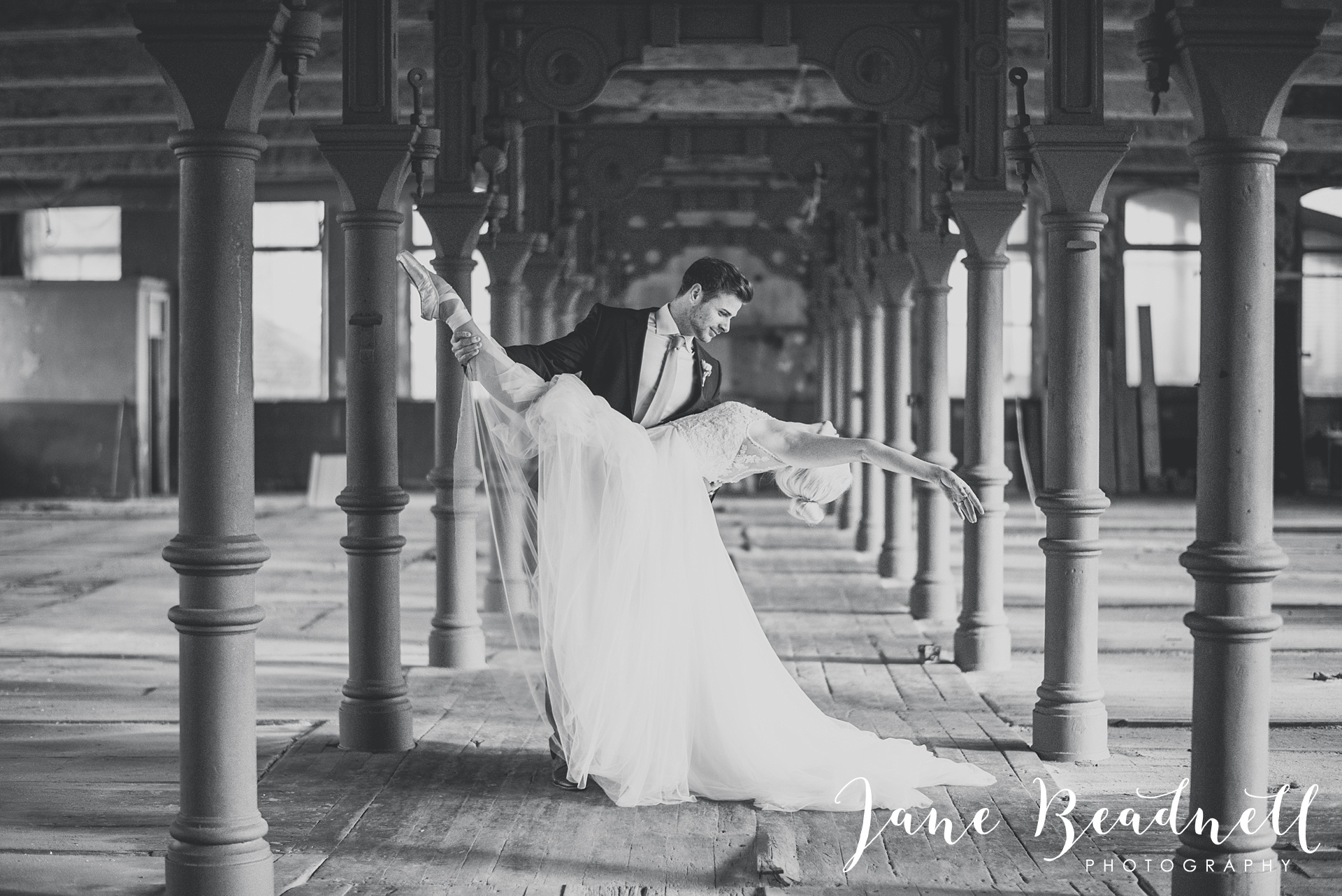 Ballet themed styled wedding shoot at Dalton Mills by Jane Beadnell Photography-0_0027
