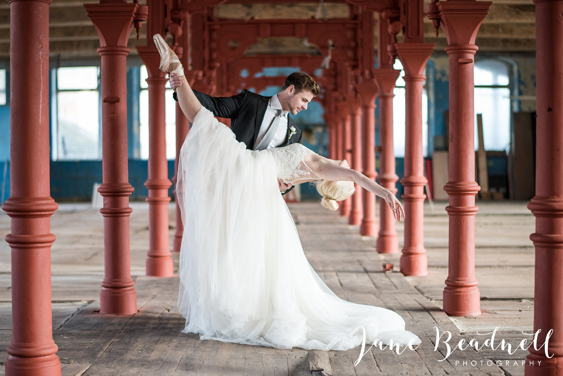 Ballet themed styled wedding shoot at Dalton Mills by Jane Beadnell Photography-0_0028