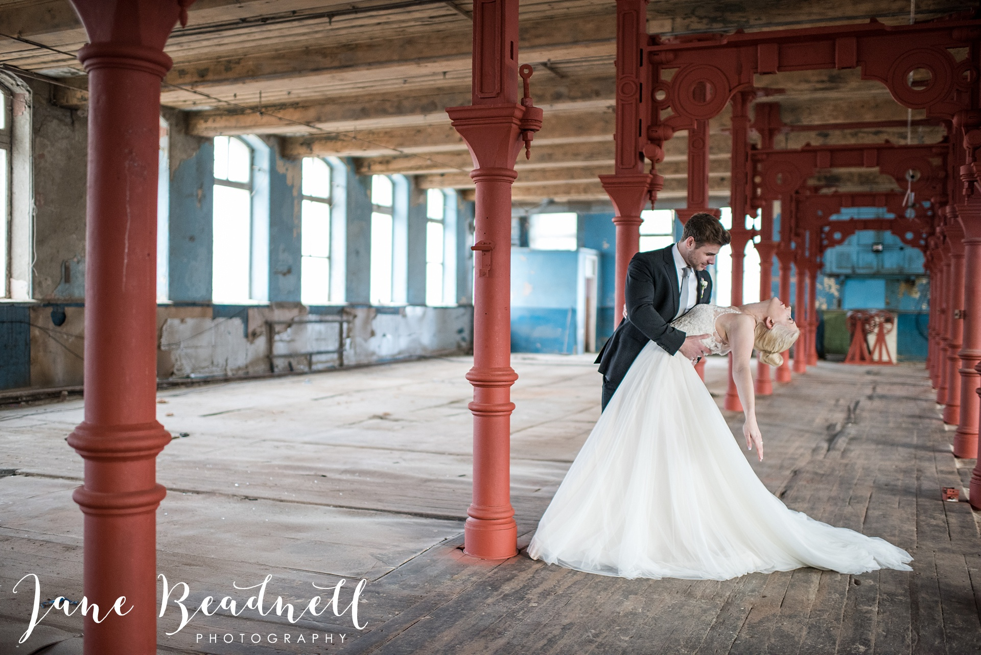 Ballet themed styled wedding shoot at Dalton Mills by Jane Beadnell Photography-0_0037