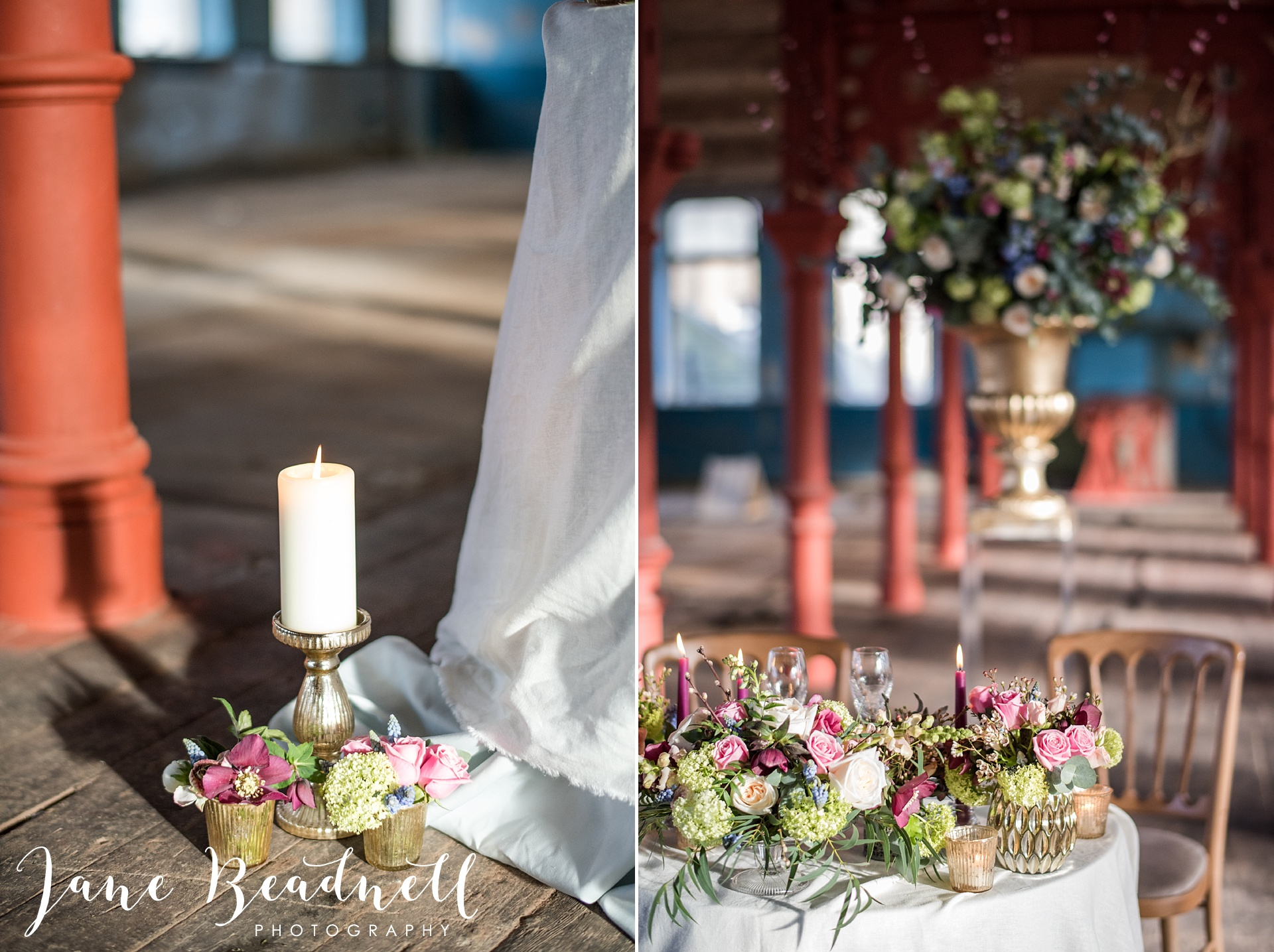 Ballet themed styled wedding shoot at Dalton Mills by Jane Beadnell Photography-0_0060
