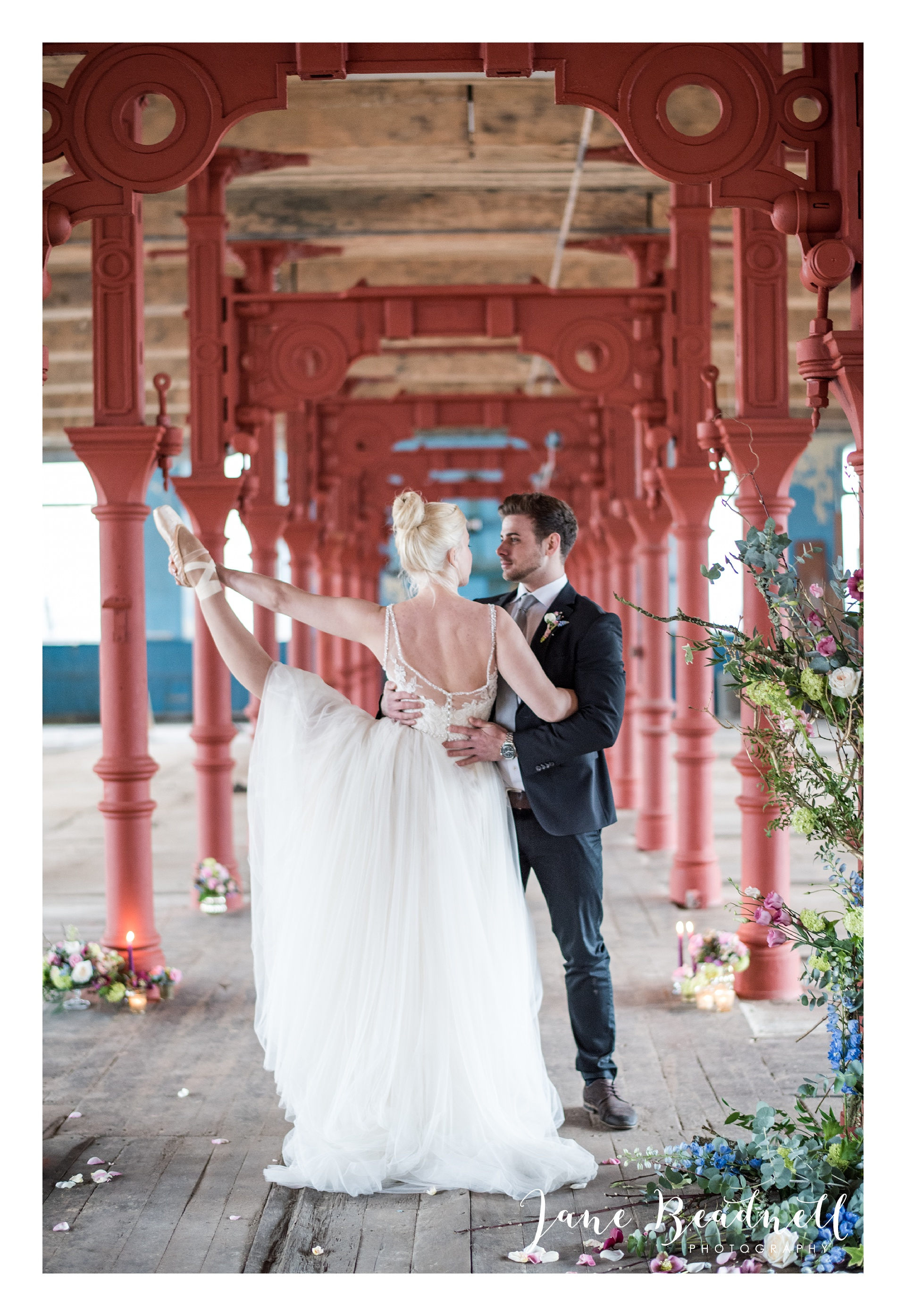 Ballet themed styled wedding shoot at Dalton Mills by Jane Beadnell Photography-0_0072