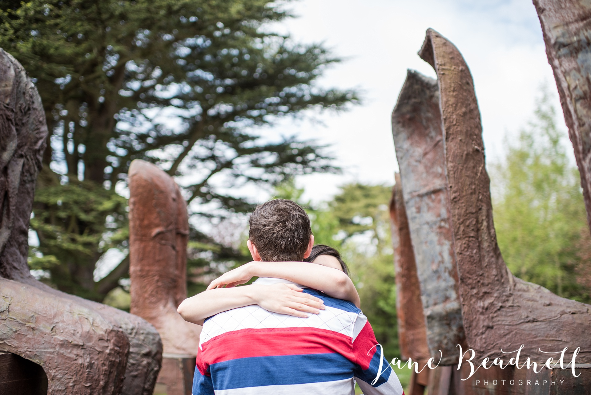 Yorkshire Sculpture Park Engagement Shoot Leeds wedding photographer Jane Beadnell_0026