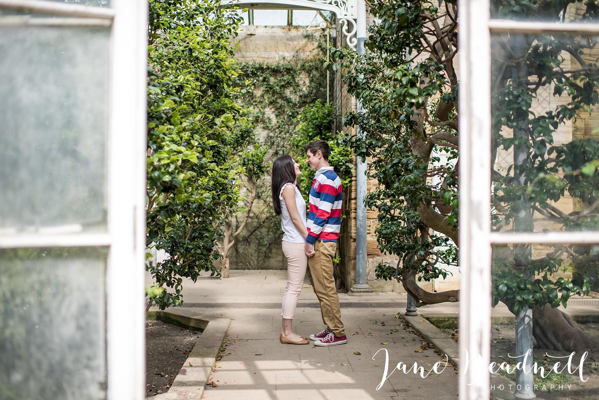Yorkshire Sculpture Park Engagement Shoot Leeds wedding photographer Jane Beadnell_0027