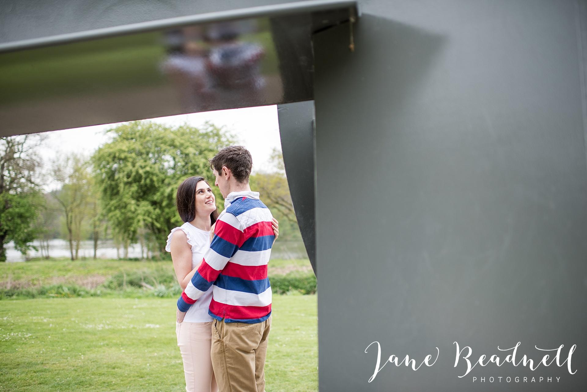 Yorkshire Sculpture Park Engagement Shoot Leeds wedding photographer Jane Beadnell_0075