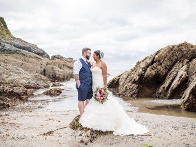 Polhawn Fort Wedding, Cornwall