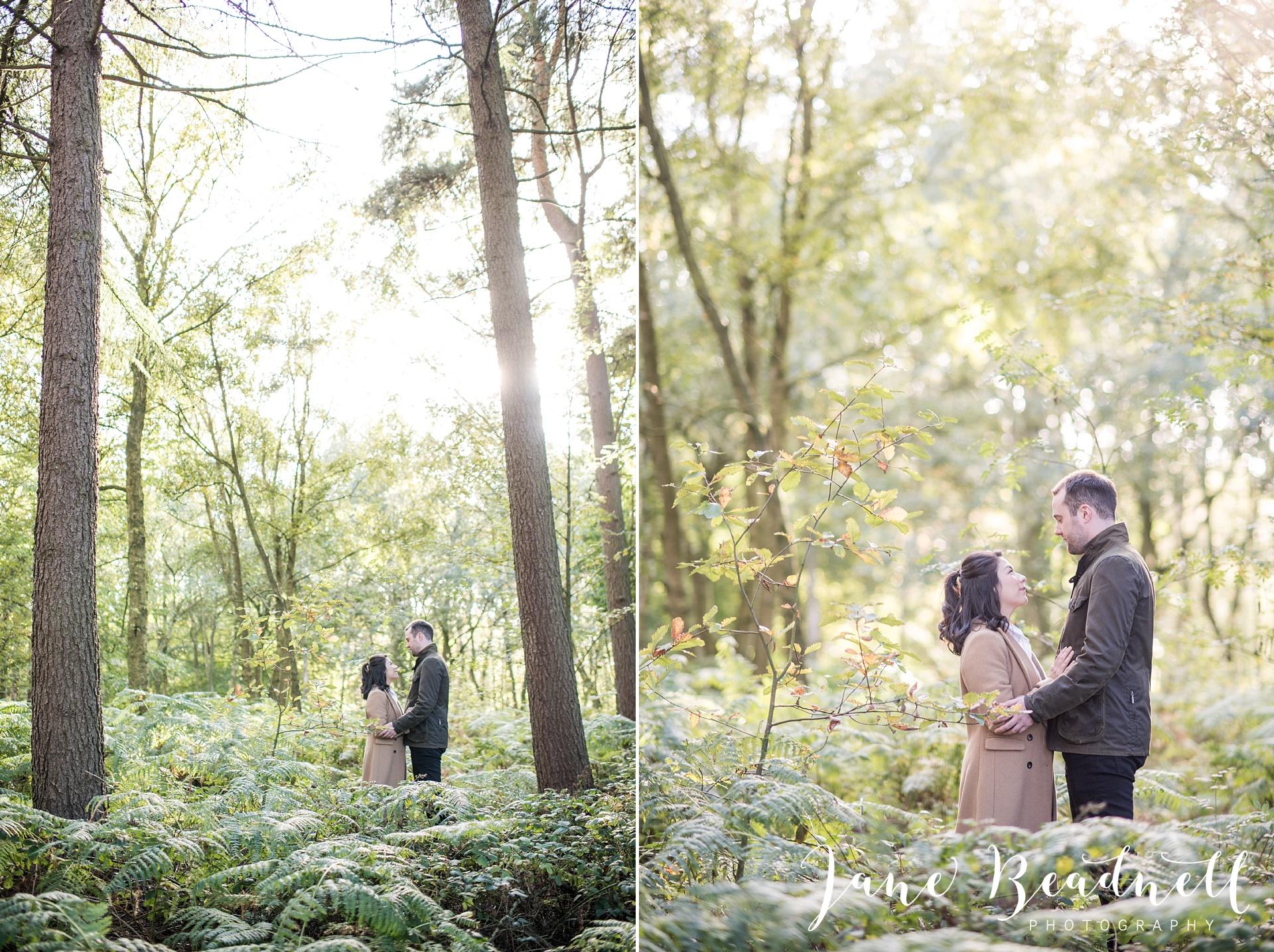 Yorkshire wedding photographer. Otley engagement photography. The Chevin, Leeds wedding photographer Jane Beadnell Photography. UK Wedding photographer