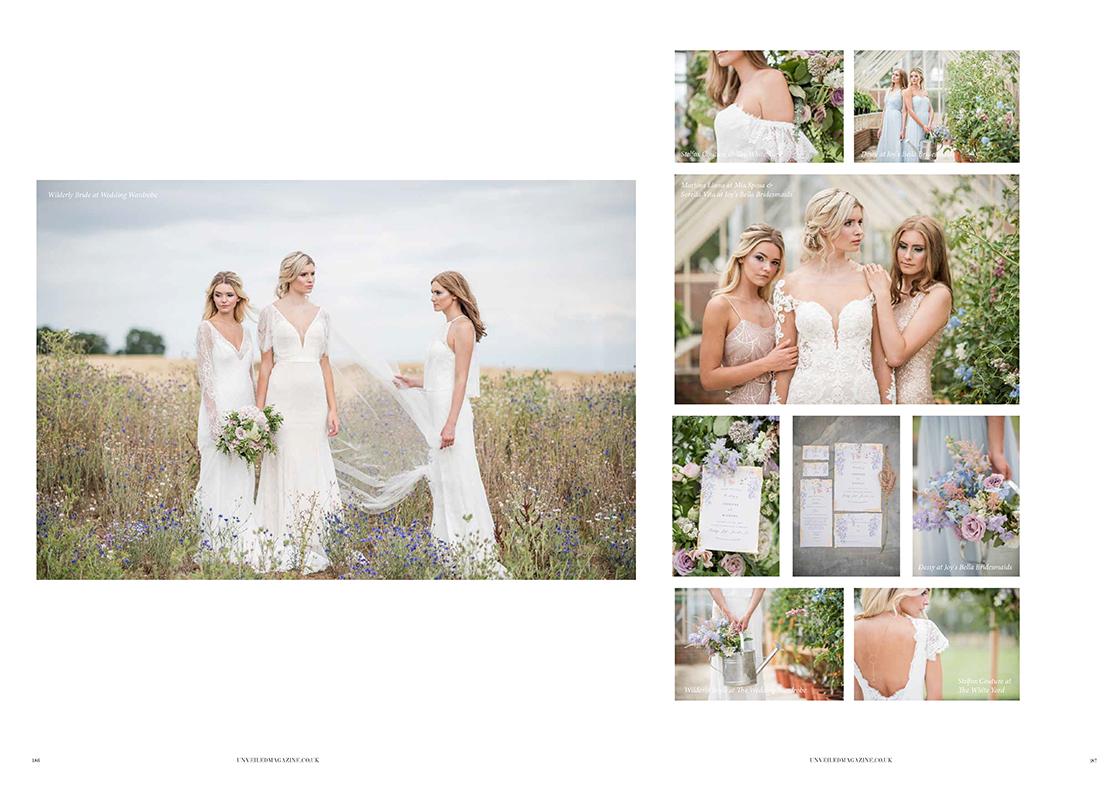 UNVEILED Wedding magazine